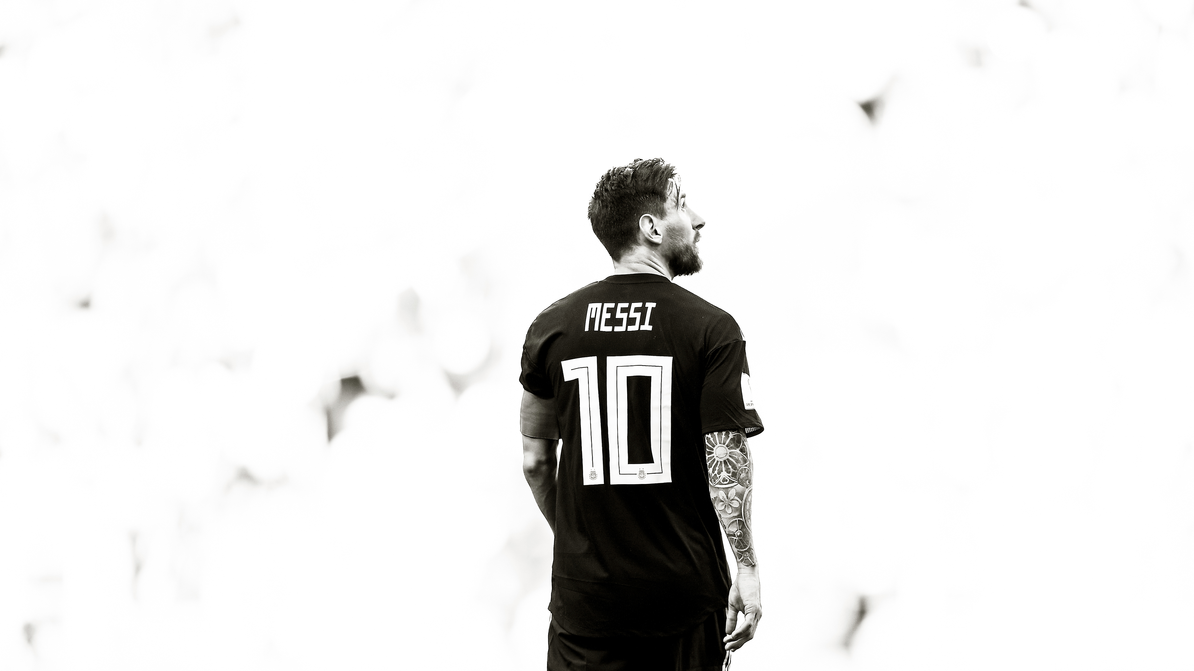 lionel messi monochrome 1538786874 - Lionel Messi Monochrome - sports wallpapers, male celebrities wallpapers, Lionel Messi wallpapers, hd-wallpapers, football wallpapers, fifa world cup russia wallpapers, boys wallpapers, 4k-wallpapers