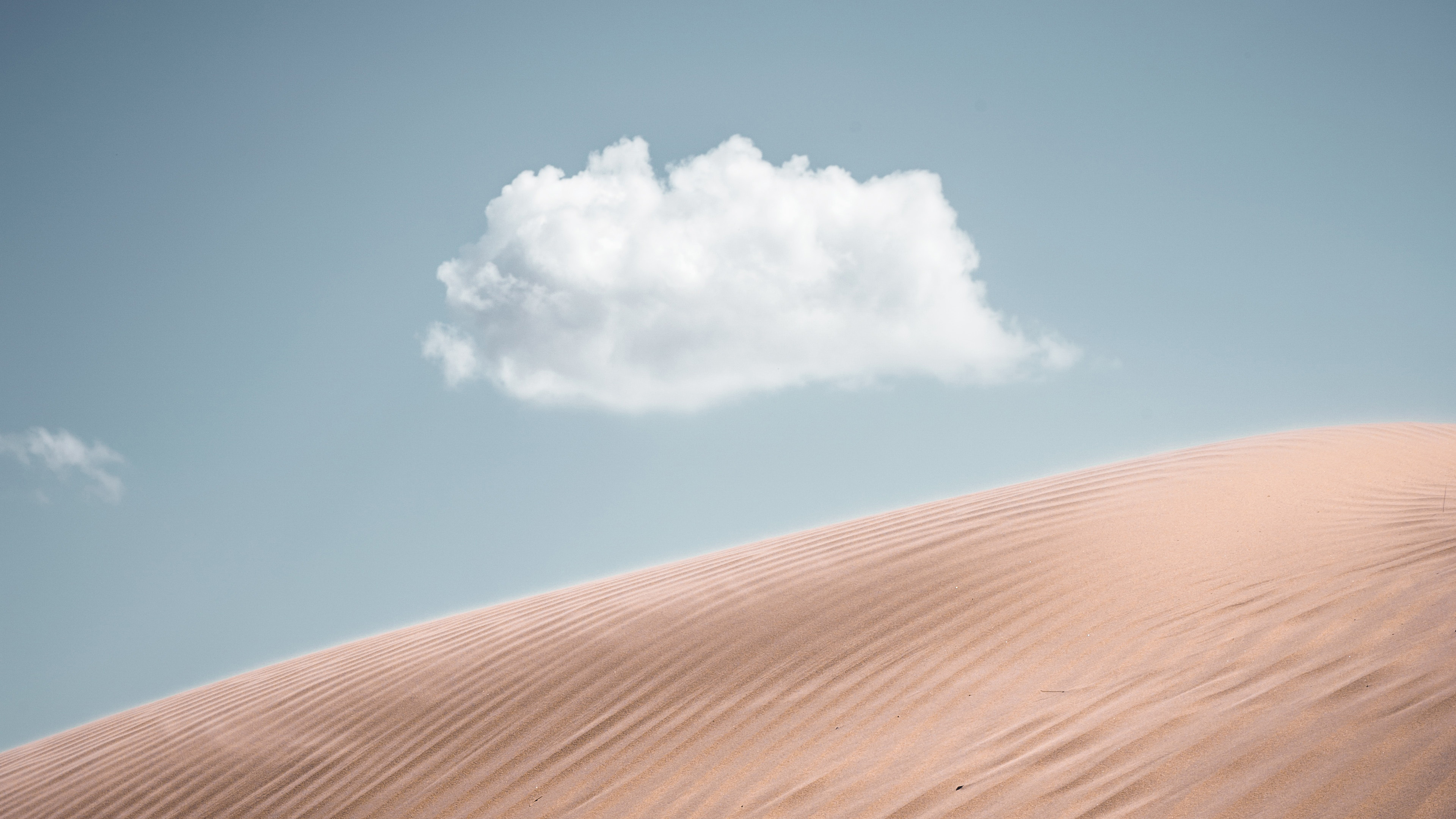 lonely cloud above desert 4k 1540143622 - Lonely Cloud Above Desert 4k - nature wallpapers, hd-wallpapers, desert wallpapers, cloud wallpapers, 4k-wallpapers