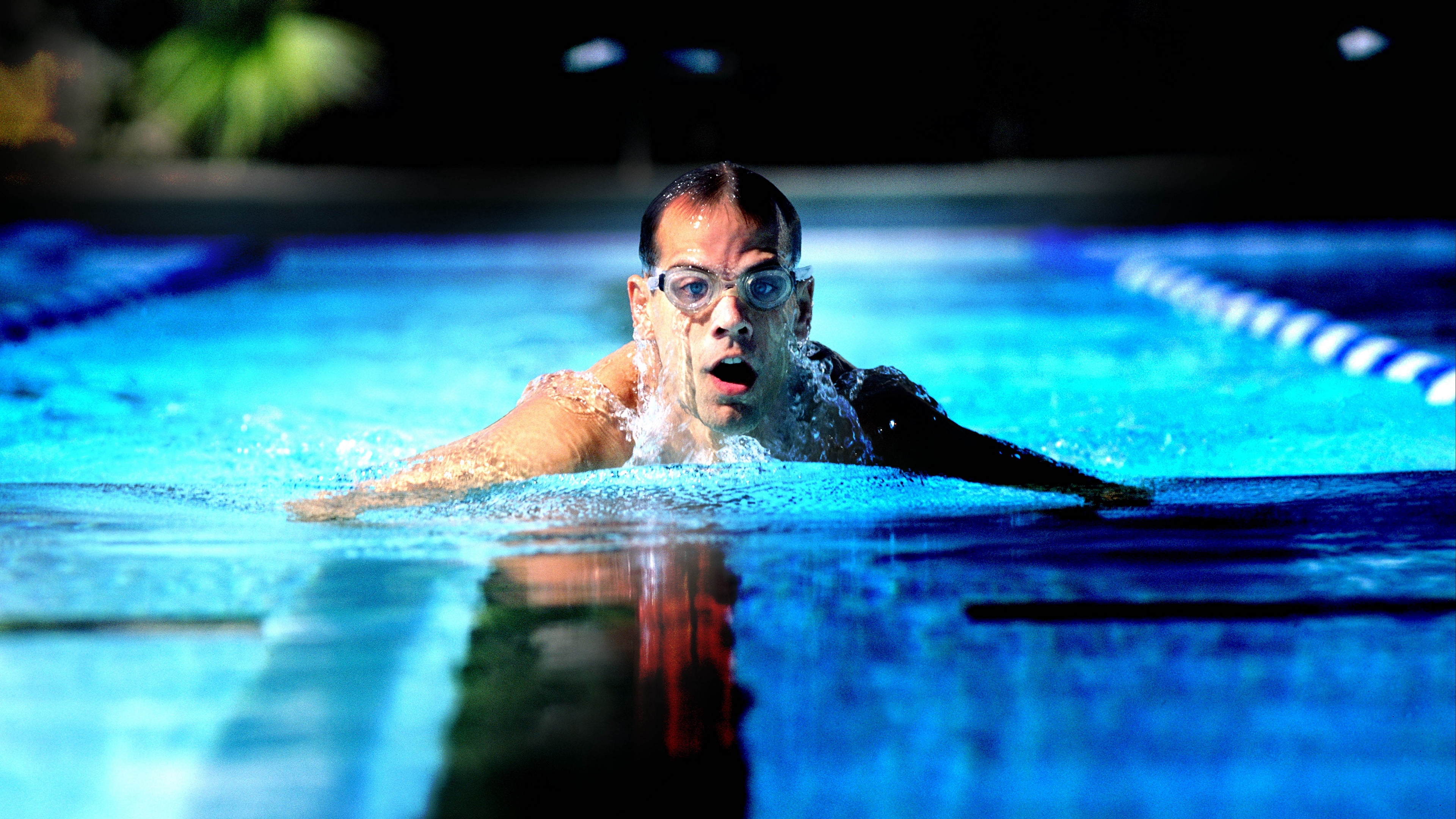 man swimmer swimming pool sports spectacles 4k 1540060971 - man, swimmer, swimming pool, sports, spectacles 4k - swimming pool, swimmer, Man
