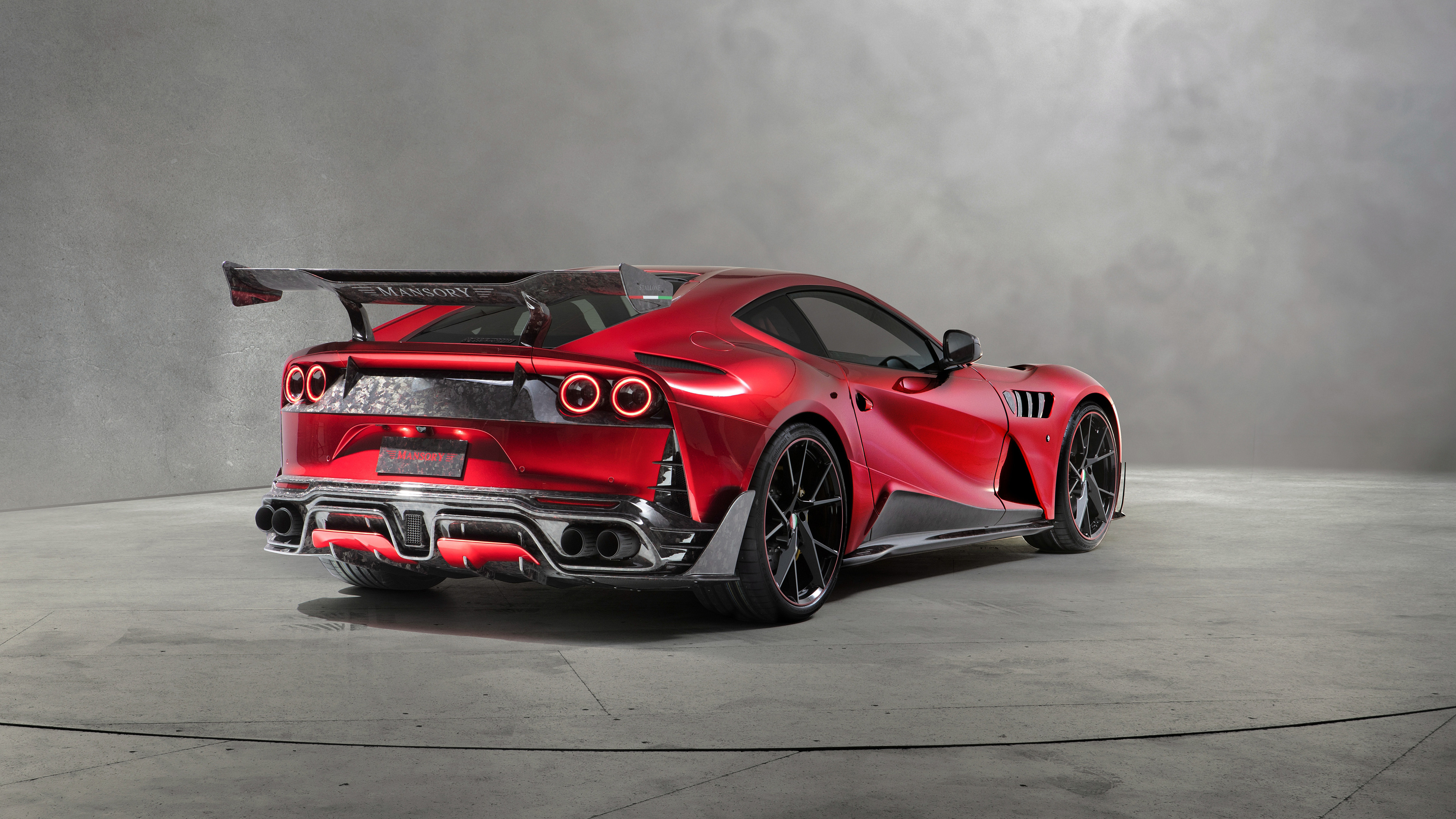 mansory stallone 2018 rear view 1539110114 - Mansory Stallone 2018 Rear View - mansory wallpapers, mansory stallone wallpapers, hd-wallpapers, cars wallpapers, 4k-wallpapers, 2018 cars wallpapers