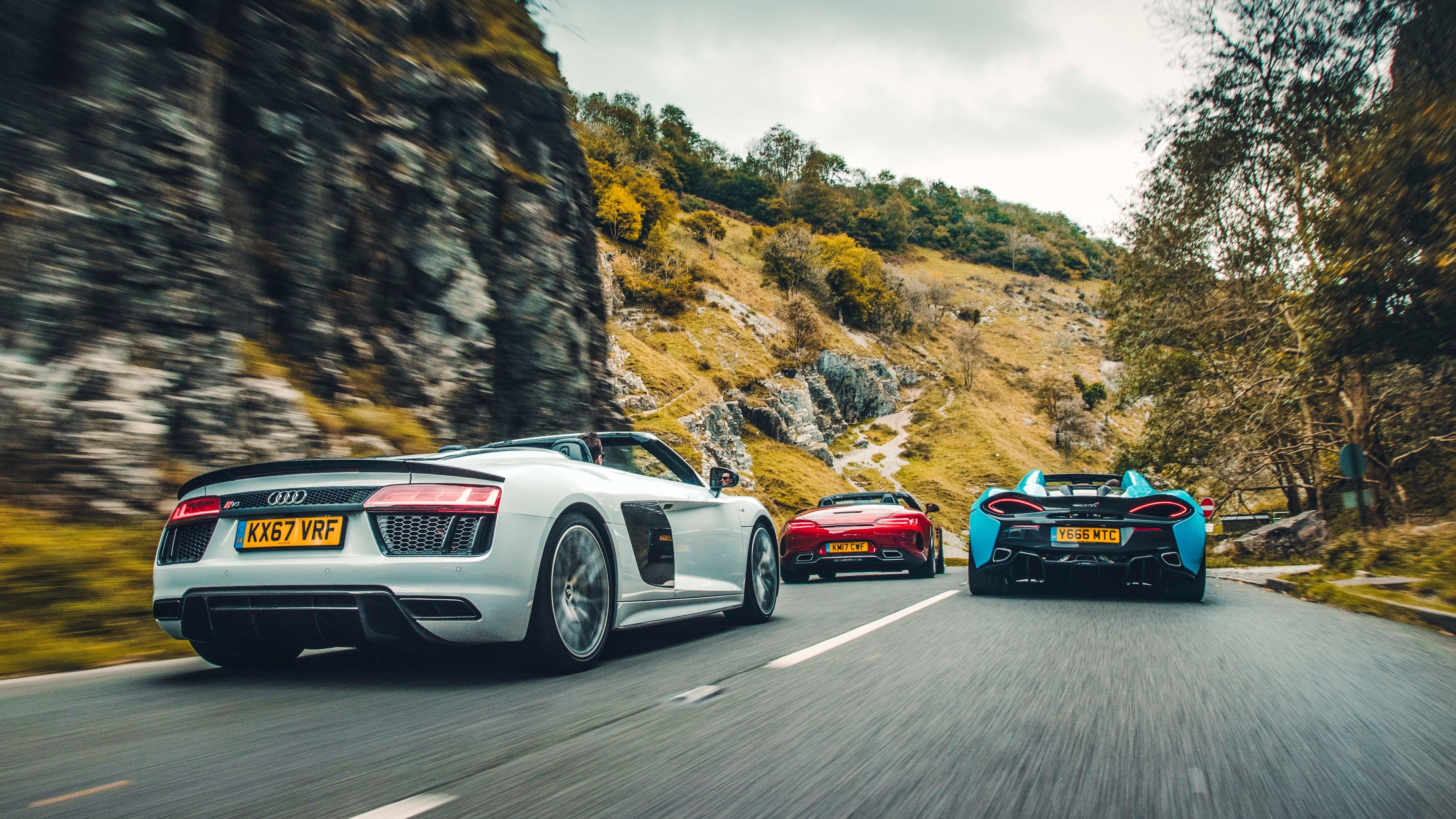 Awesome Audi R8 V10 Plus Wallpaper 4K Images