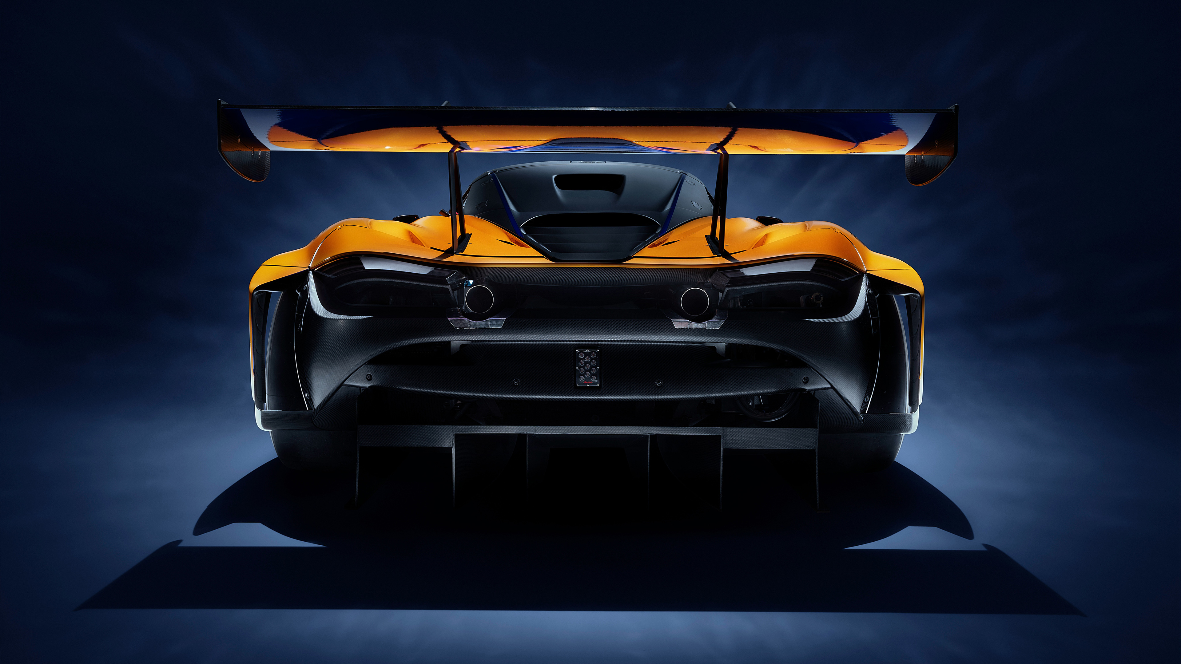 mclaren 720s gt3 2019 rear view 1539114032 - McLaren 720S GT3 2019 Rear View - mclaren wallpapers, mclaren 720s wallpapers, mclaren 720s gt3 wallpapers, hd-wallpapers, cars wallpapers, 4k-wallpapers, 2019 cars wallpapers