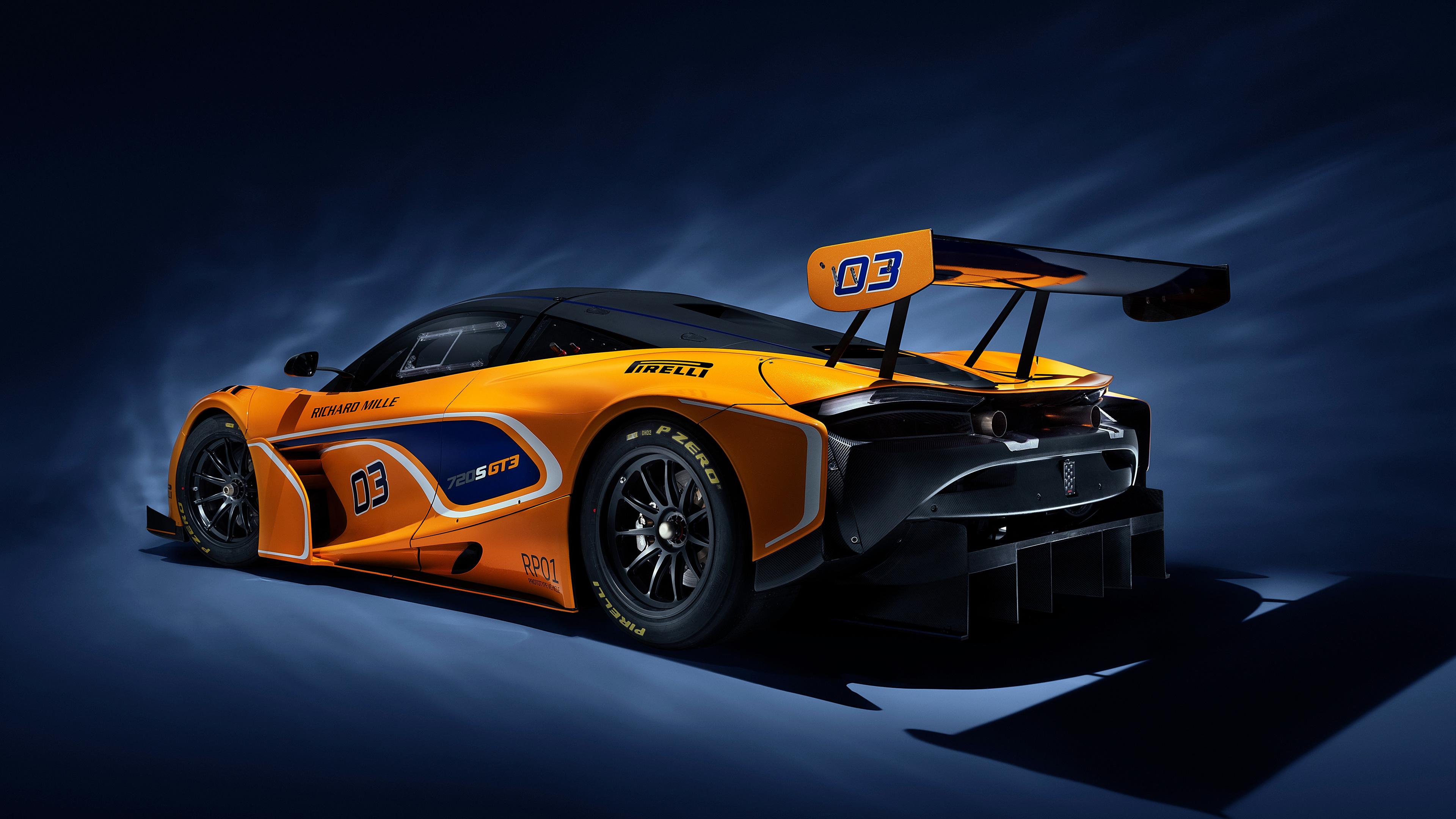 mclaren 720s gt3 2019 rear 1539113939 - McLaren 720S GT3 2019 Rear - mclaren wallpapers, mclaren 720s wallpapers, mclaren 720s gt3 wallpapers, hd-wallpapers, cars wallpapers, 4k-wallpapers, 2019 cars wallpapers