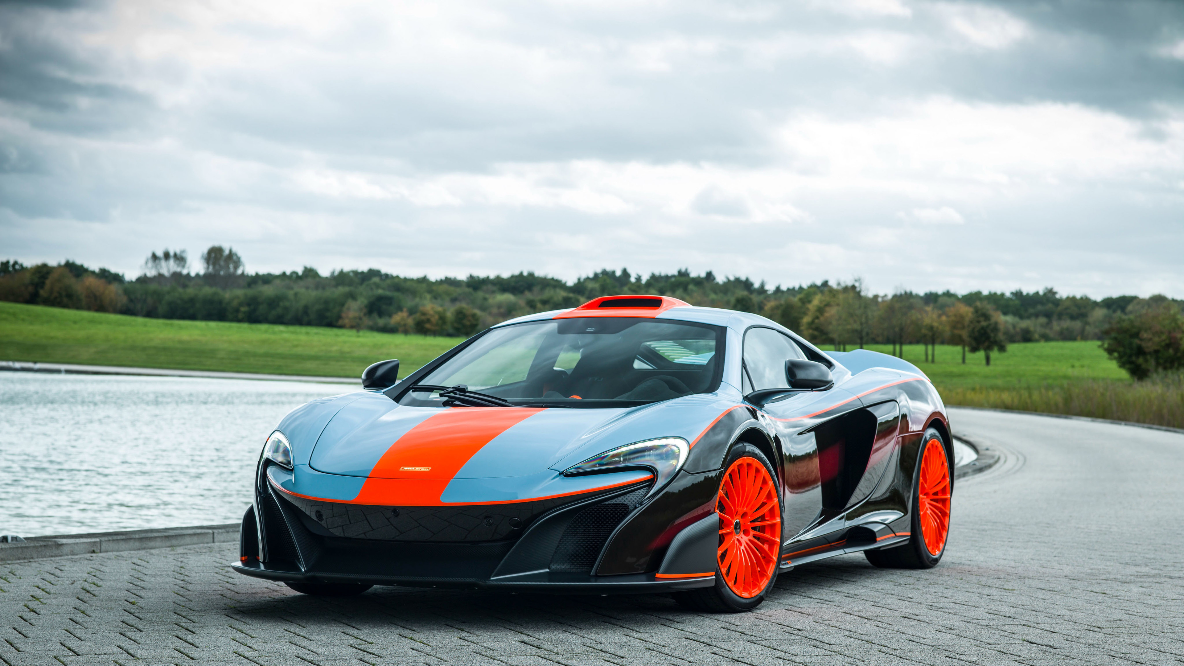 mclaren mso 675lt gulf racing theme 2018 1539111533 - McLaren MSO 675LT Gulf Racing Theme 2018 - mclaren wallpapers, mclaren mso 675 lt wallpapers, hd-wallpapers, cars wallpapers, 4k-wallpapers, 2018 cars wallpapers