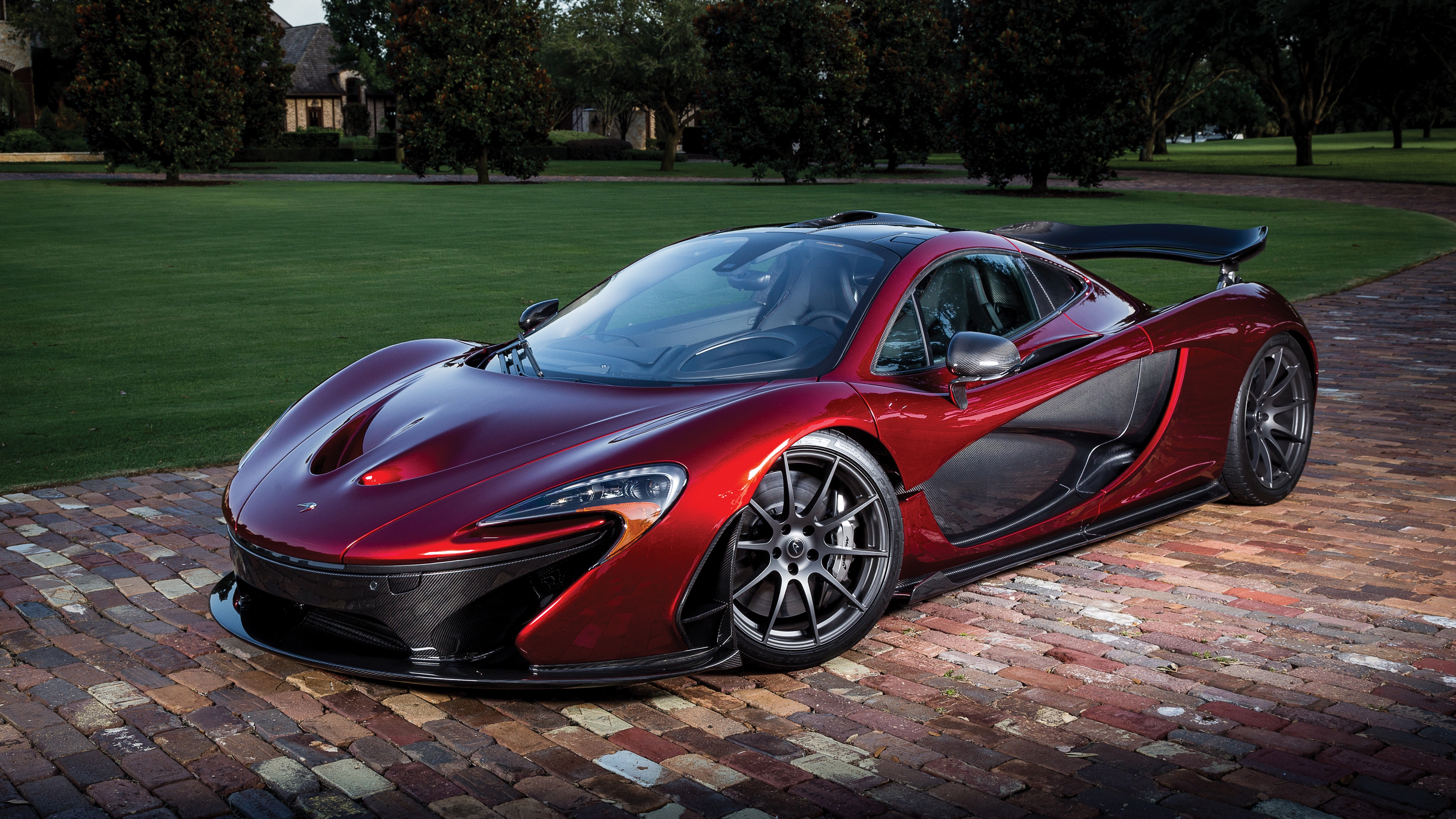 mclaren p1 red sports car side view 4k 1538935232 - mclaren, p1, red, sports car, side view 4k - red, p1, Mclaren