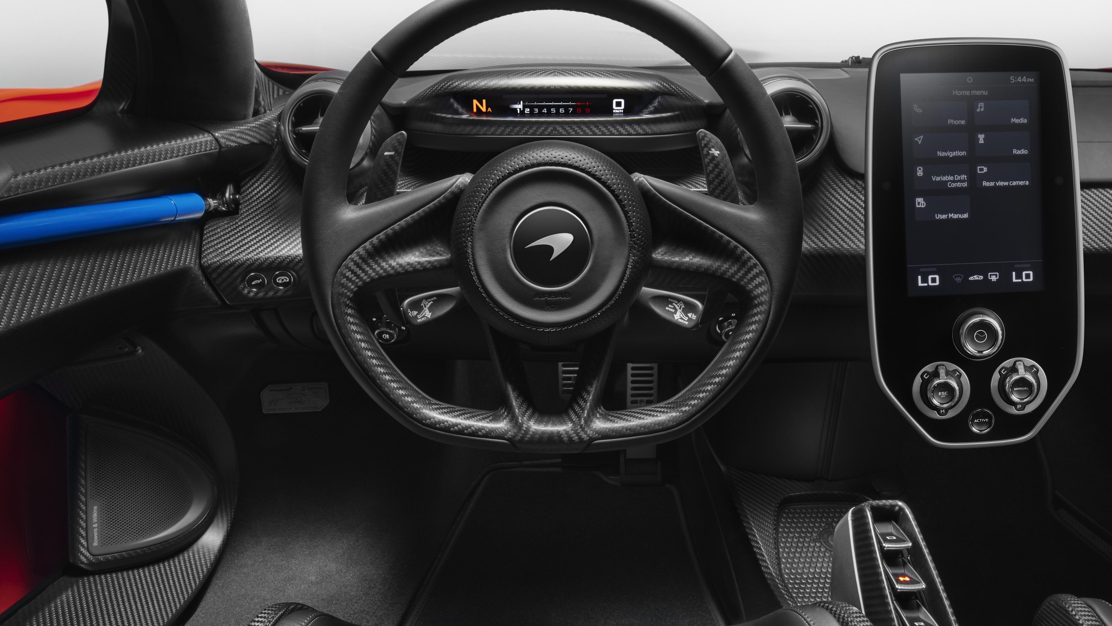 mclaren senna car interior 4k 1539108681 - Mclaren Senna Car Interior 4k - steering wallpapers, mclaren wallpapers, mclaren senna wallpapers, interior wallpapers, hd-wallpapers, 4k-wallpapers, 2018 cars wallpapers