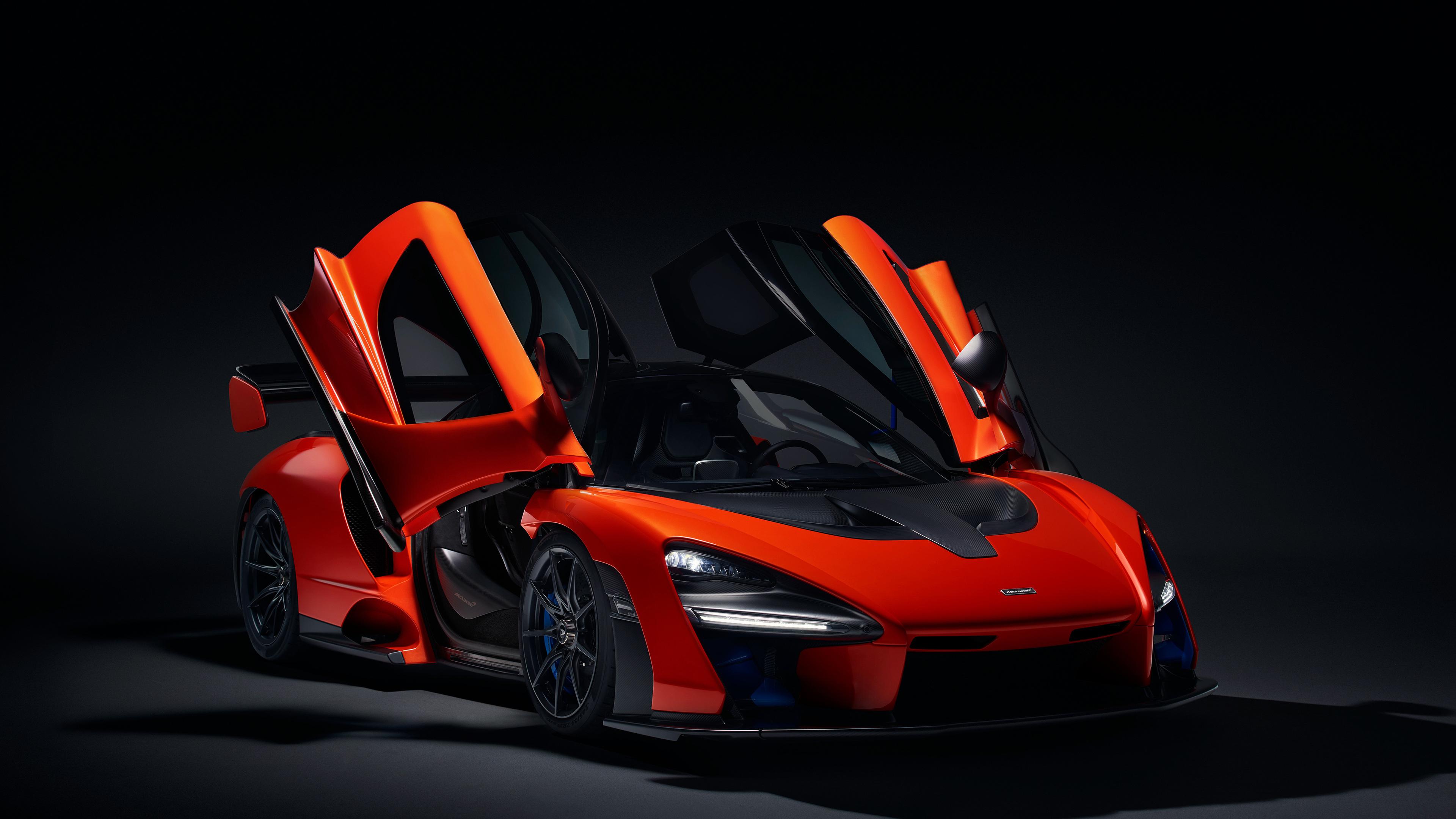 mclaren senna doors up 1539108656 - McLaren Senna Doors Up - mclaren wallpapers, mclaren senna wallpapers, hd-wallpapers, 4k-wallpapers, 2018 cars wallpapers