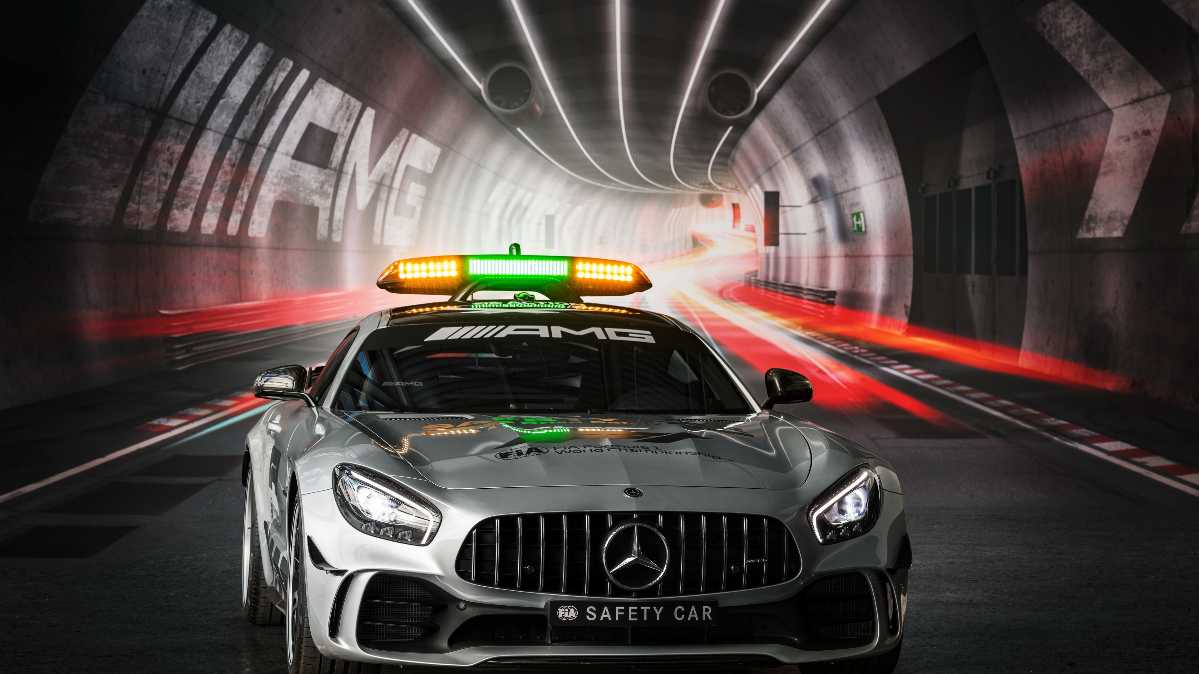 Wallpaper 4k Mercedes Amg Gt R F1 Safety Car 2018 Cars Wallpapers