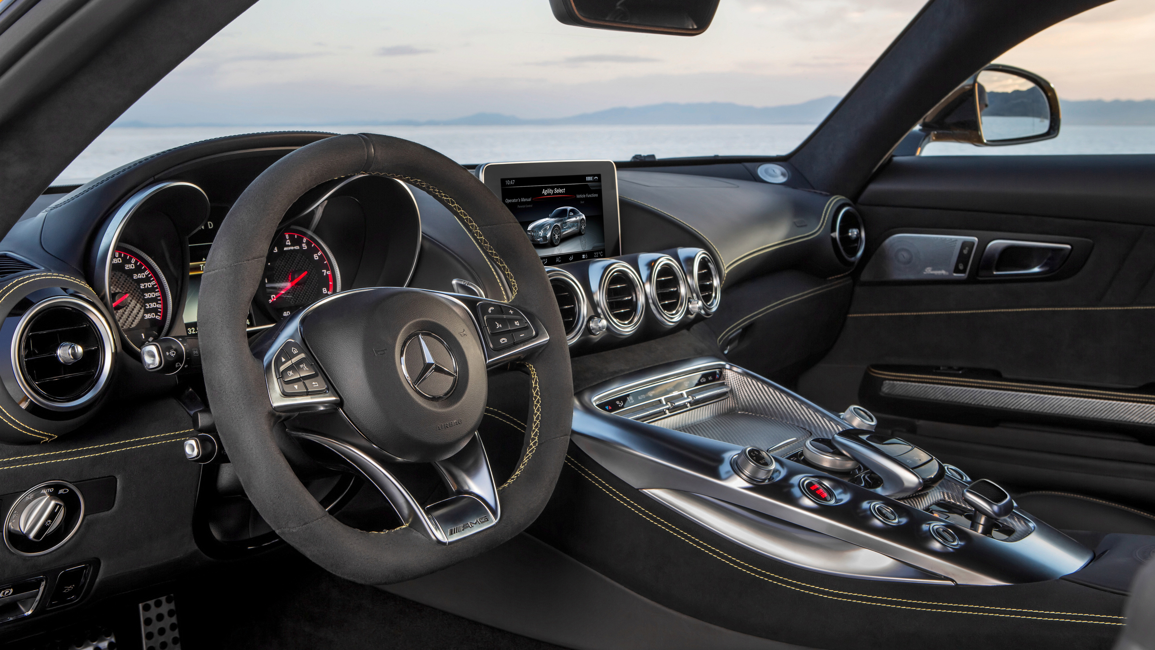 mercedes amg gt s 2017 interior 1539108916 - Mercedes AMG GT S 2017 Interior - mercedes wallpapers, mercedes amg wallpapers, interior wallpapers, hd-wallpapers, cars wallpapers, 4k-wallpapers, 2017 cars wallpapers