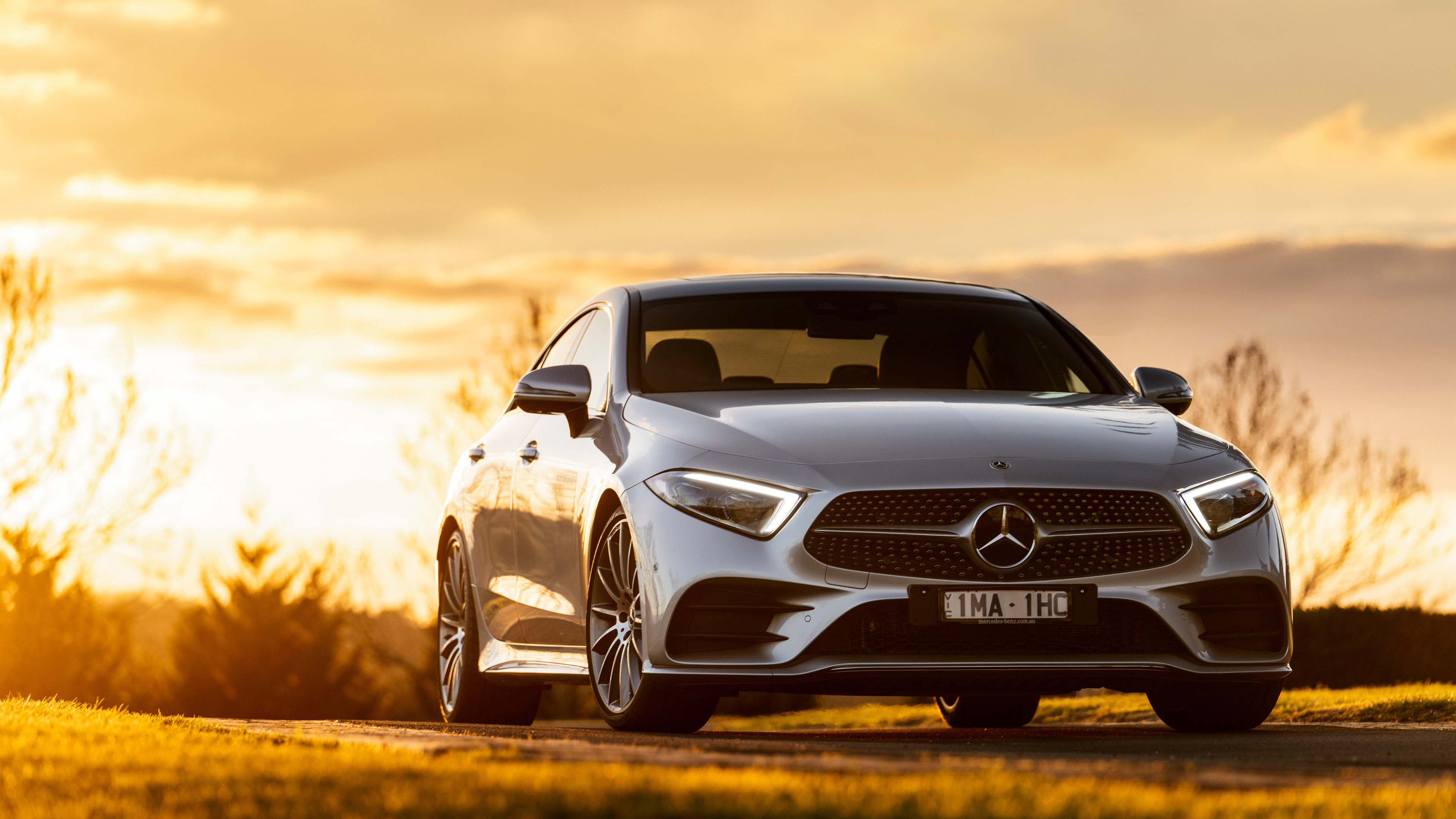 mercedes benz cls 450 4matic amg line 2018 front 1539113595 - Mercedes Benz CLS 450 4MATIC AMG Line 2018 Front - mercedes wallpapers, mercedes amg wallpapers, hd-wallpapers, cars wallpapers, 4k-wallpapers, 2018 cars wallpapers