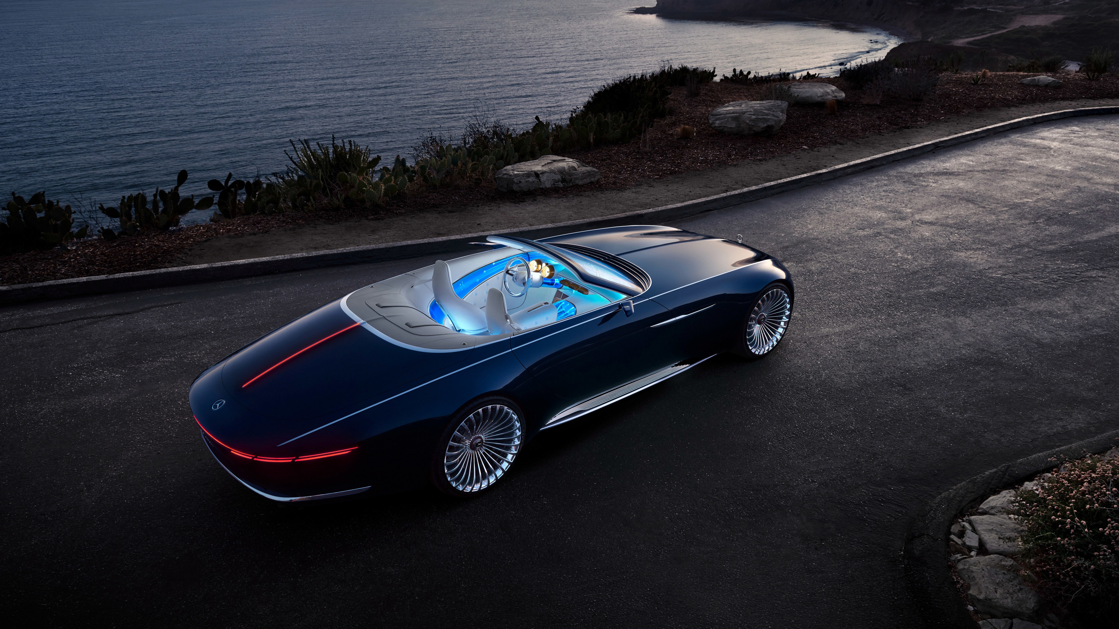 mercedes maybach 6 cabriolet 1539106969 - Mercedes Maybach 6 Cabriolet - mercedes wallpapers, mercedes maybach wallpapers, hd-wallpapers, electric cars wallpapers, concept cars wallpapers, cars wallpapers, 4k-wallpapers, 2017 cars wallpapers