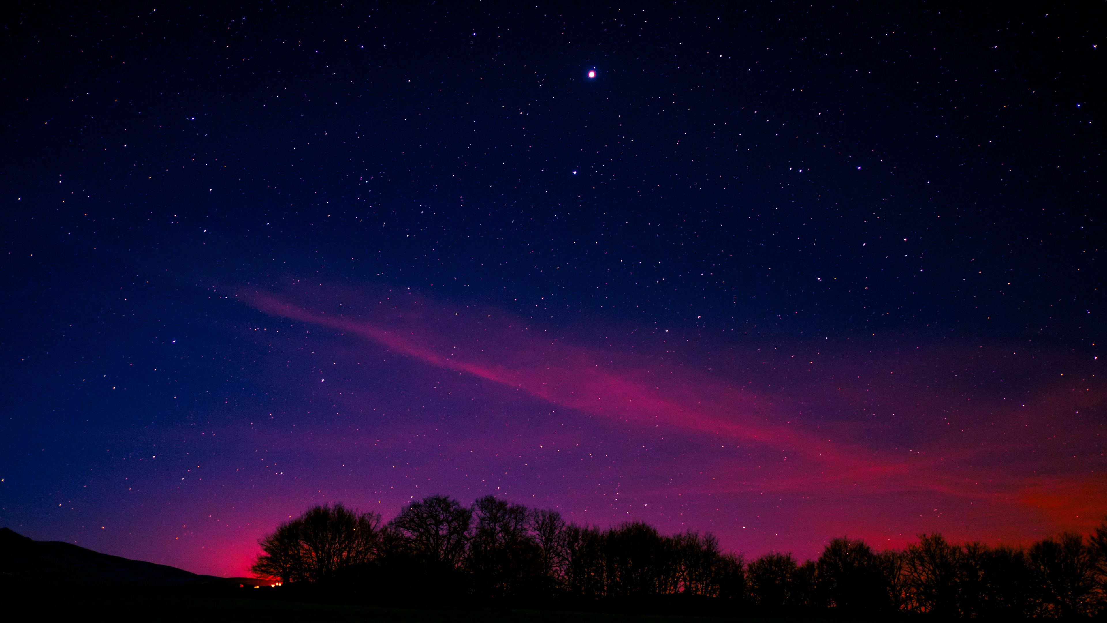 minimal night pink aurora long exposure 5k 1540142970 - Minimal Night Pink Aurora Long Exposure 5k - sky wallpapers, pink wallpapers, northern lights wallpapers, long exposure wallpapers, hd-wallpapers, aurora wallpapers, 5k wallpapers, 4k-wallpapers
