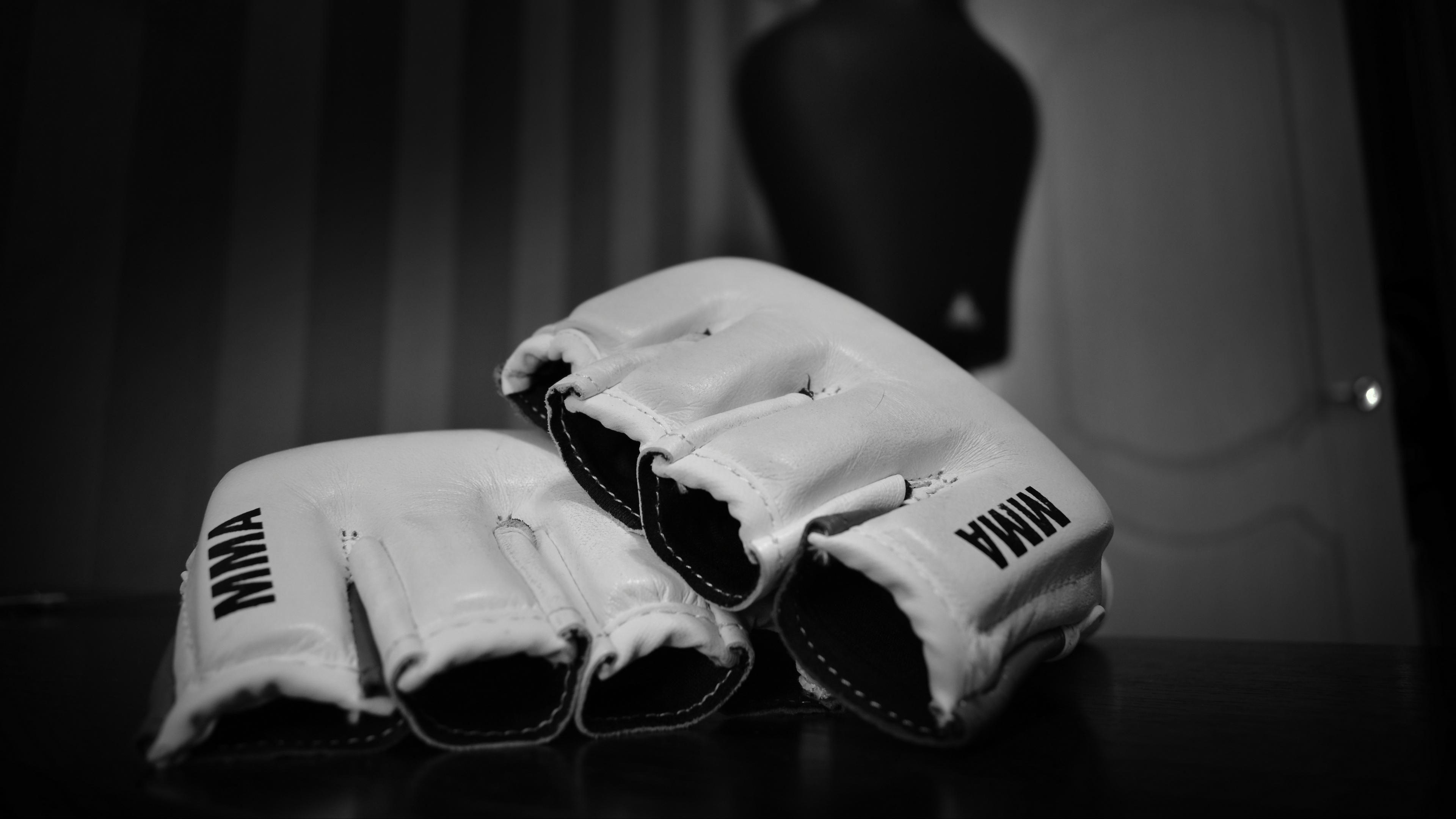 mixed martial arts mma wrestling bw gloves 4k 1540062602 - mixed martial arts, mma, wrestling, bw, gloves 4k - wrestling, mma, mixed martial arts
