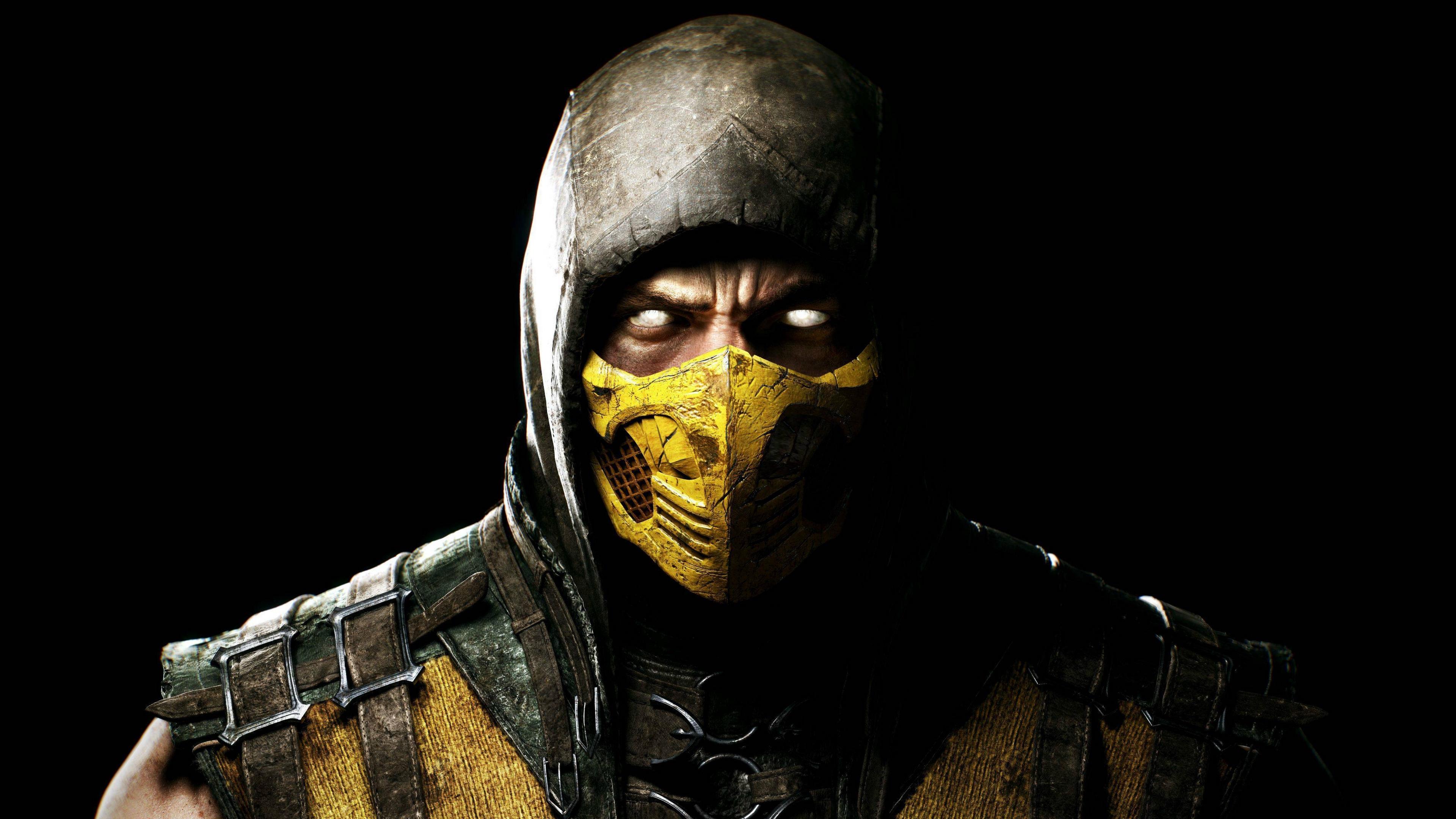 mortal kombat x scorpio ninja mask 4k 1538945038 - mortal kombat x, scorpio, ninja, mask 4k - Scorpio, Ninja, mortal kombat x
