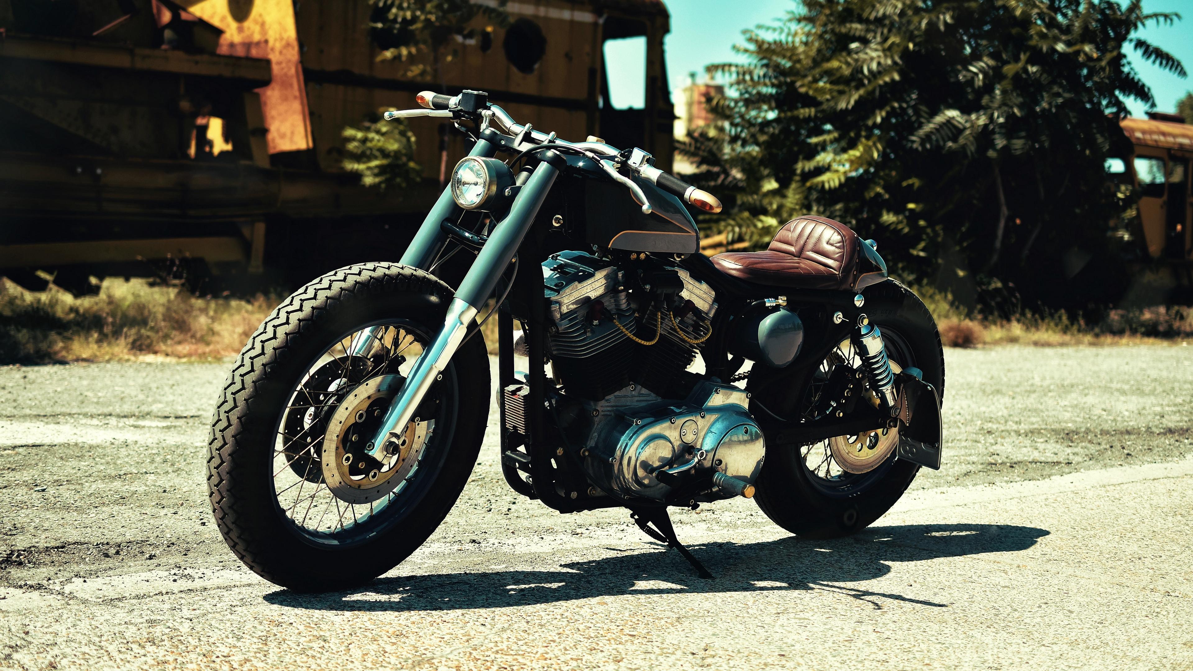 motorcycle side view shadow wheel 4k 1538943800 - motorcycle, side view, shadow, wheel 4k - side view, Shadow, Motorcycle