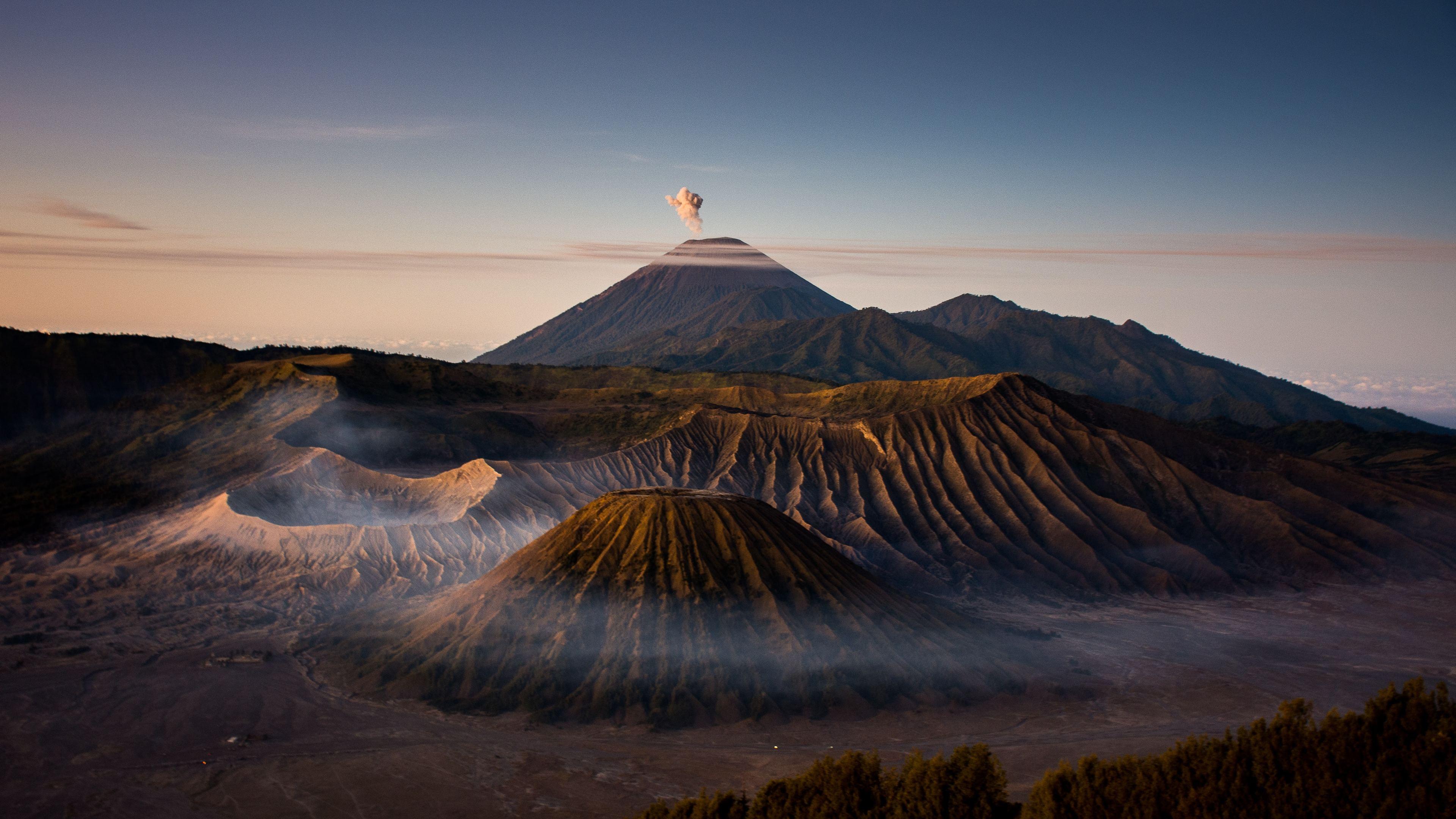 Mount Bromo Volcano 4k volcano wallpapers, nature ...