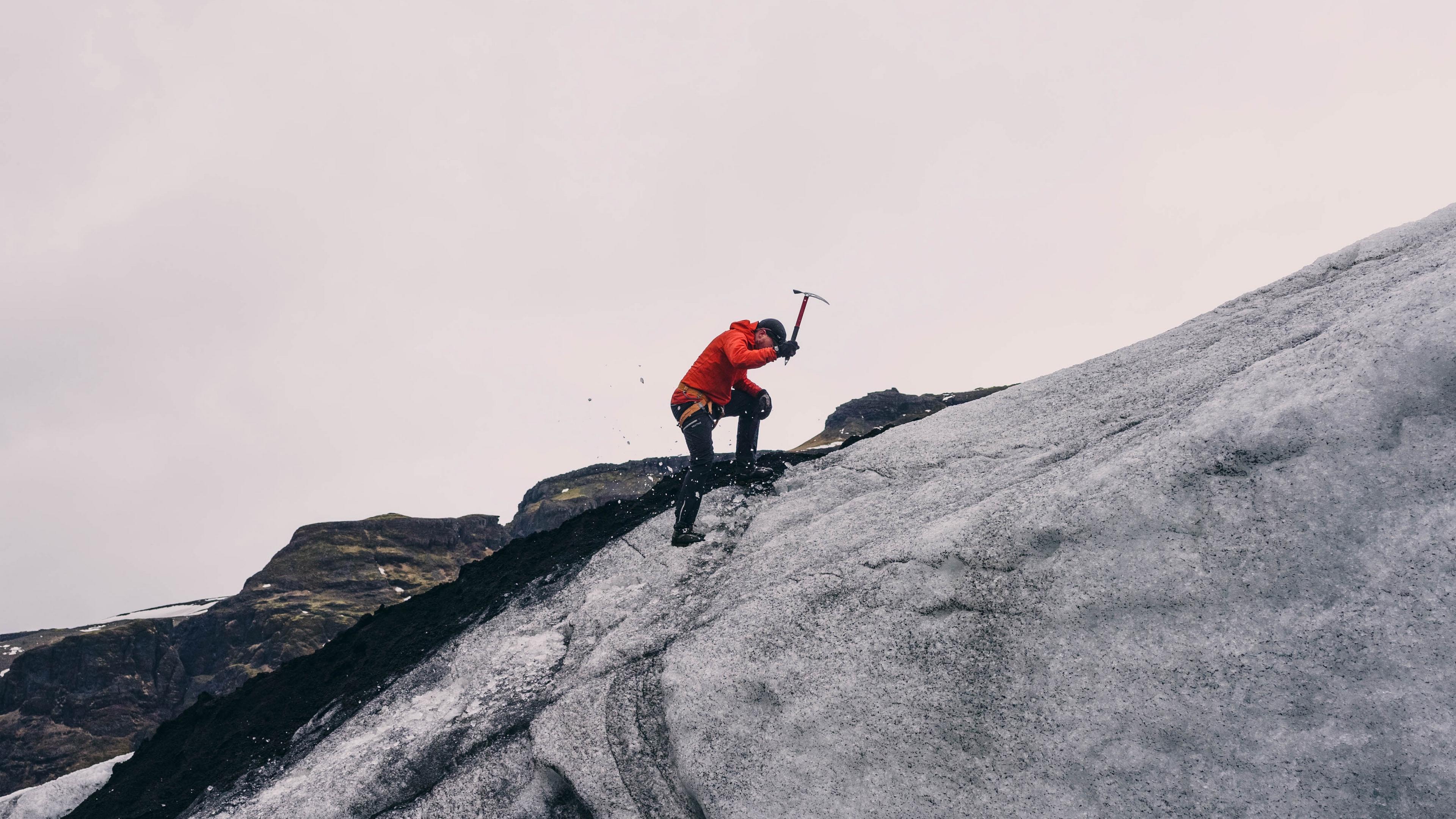 mountain climber mountain overcome 4k 1540063509 - mountain climber, mountain, overcome 4k - overcome, mountain climber, Mountain