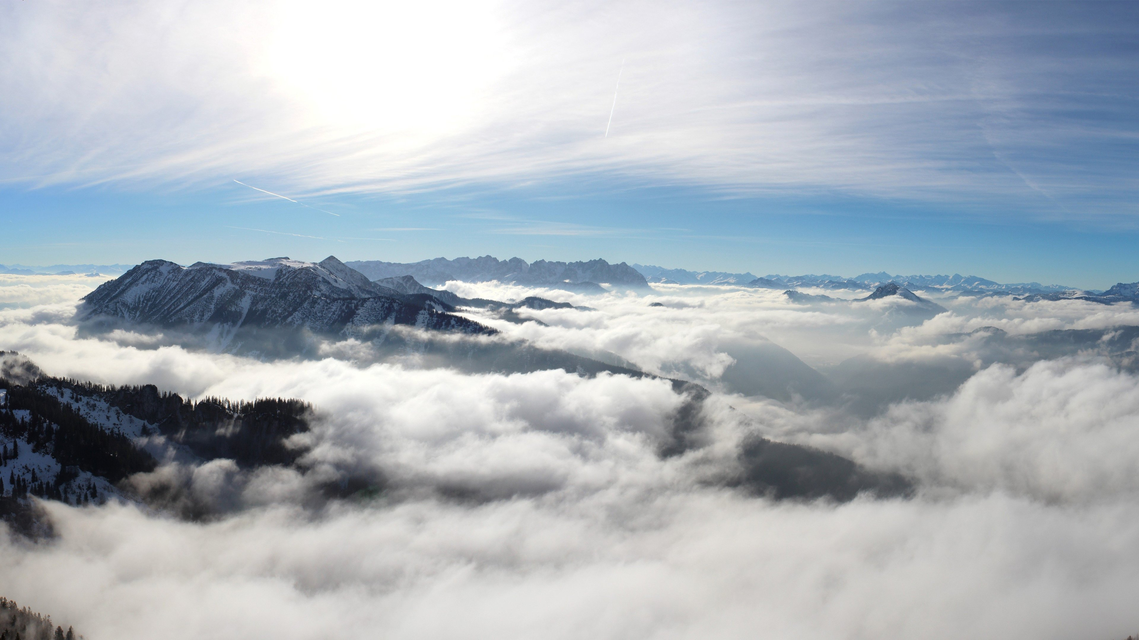 mountains cloudy 4k 1540131537 - Mountains Cloudy 4k - nature wallpapers, mountains wallpapers, cloudy wallpapers, clouds wallpapers