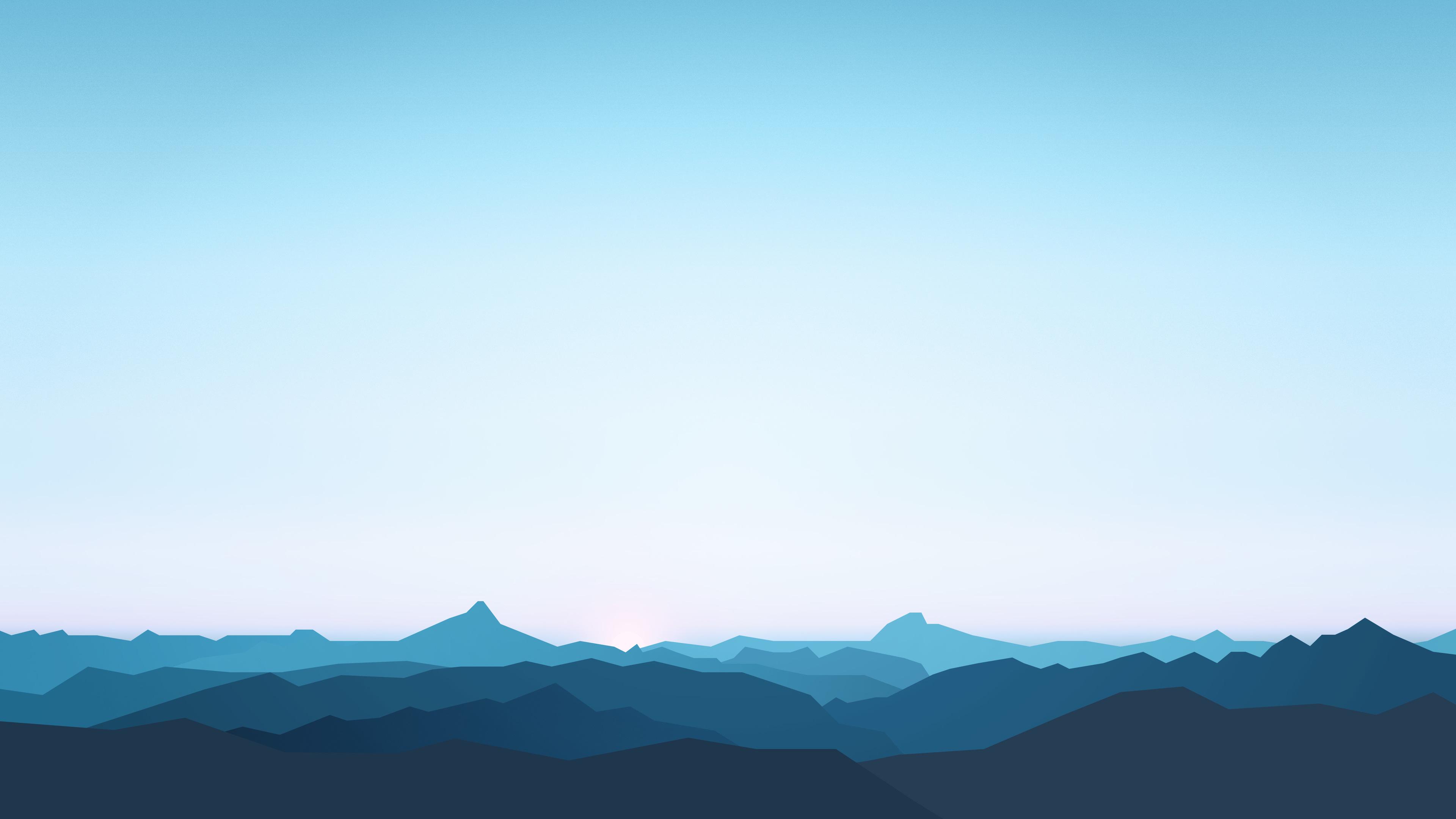 mountains landscape minimalism 4k 1540755074 - Mountains Landscape Minimalism 4k - mountains wallpapers, minimalism wallpapers, landscape wallpapers, hd-wallpapers, digital art wallpapers, artwork wallpapers, artist wallpapers, 4k-wallpapers