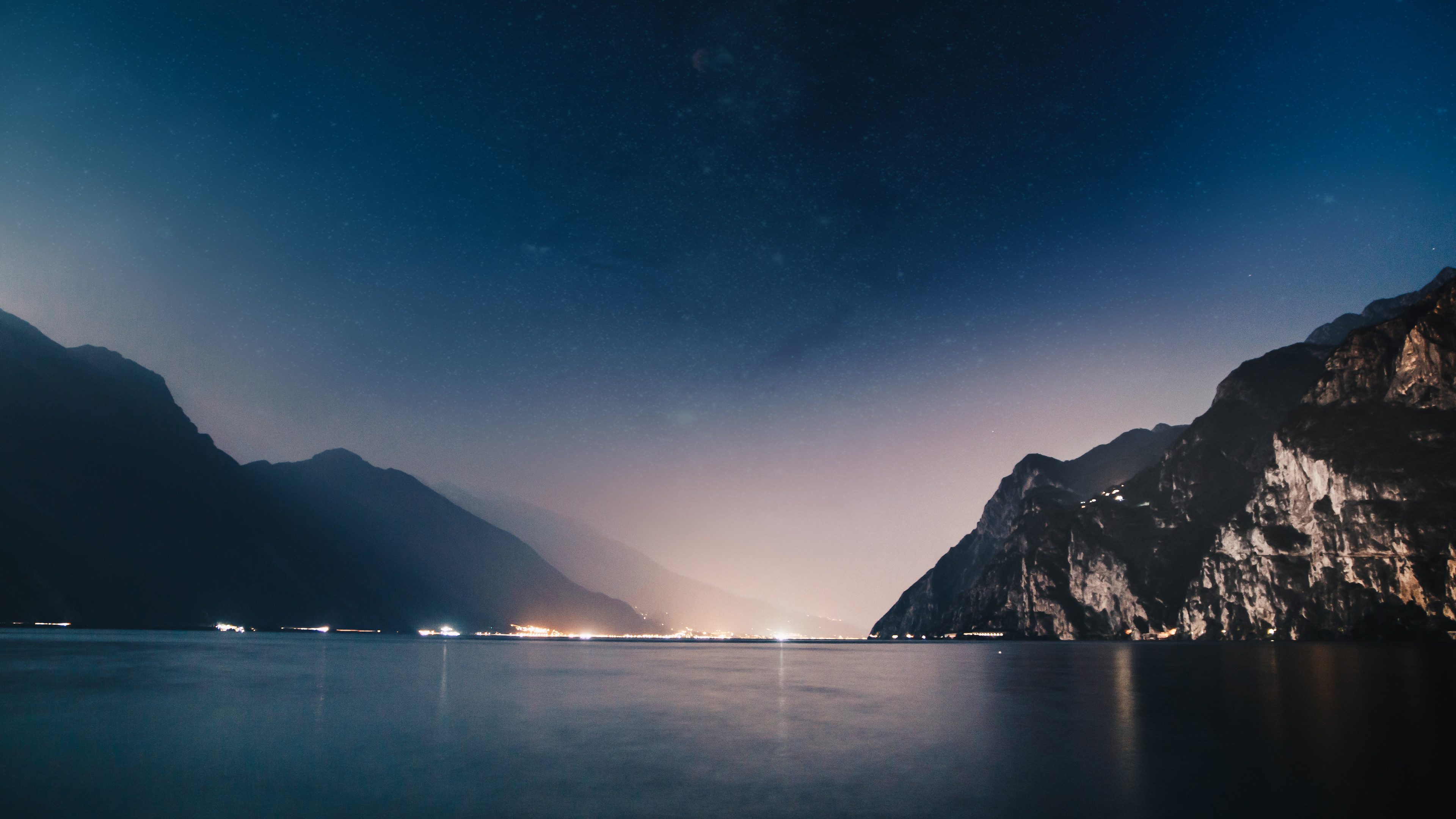 mountains night sea 4k 5k 1540132871 - Mountains Night Sea 4k 5k - sky wallpapers, photography wallpapers, night wallpapers, mountains wallpapers, hd-wallpapers, 5k wallpapers, 4k-wallpapers