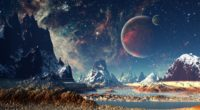 mountains stars space planets digital art artwork 4k 1540755443 200x110 - Mountains Stars Space Planets Digital Art Artwork 4k - stars wallpapers, space wallpapers, planets wallpapers, mountains wallpapers, hd-wallpapers, digital art wallpapers, artwork wallpapers, artist wallpapers, 4k-wallpapers