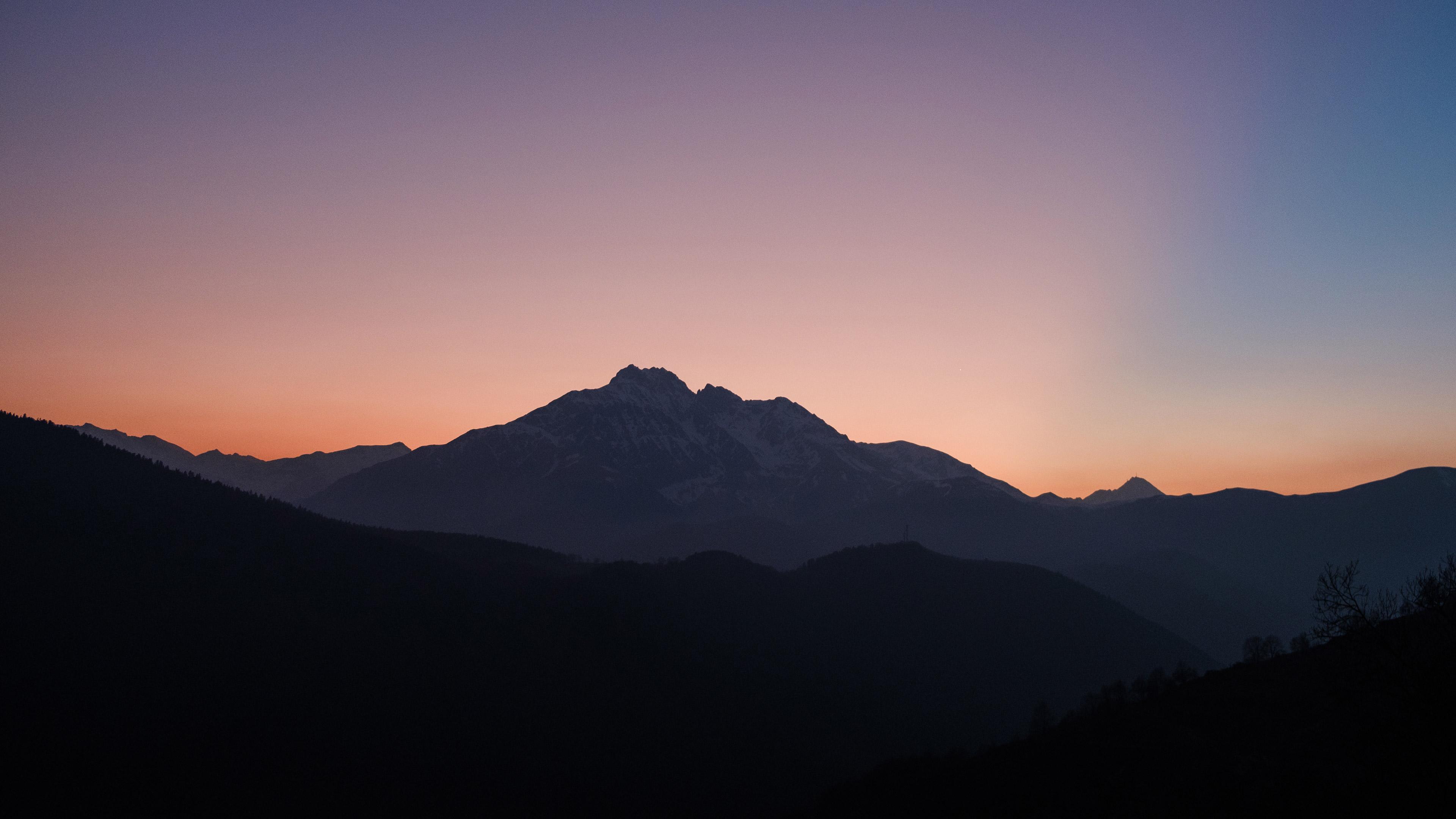 nice sunset over mountains 4k 1540133051 - Nice Sunset Over Mountains 4k - sunset wallpapers, nature wallpapers, mountains wallpapers, hd-wallpapers, 4k-wallpapers