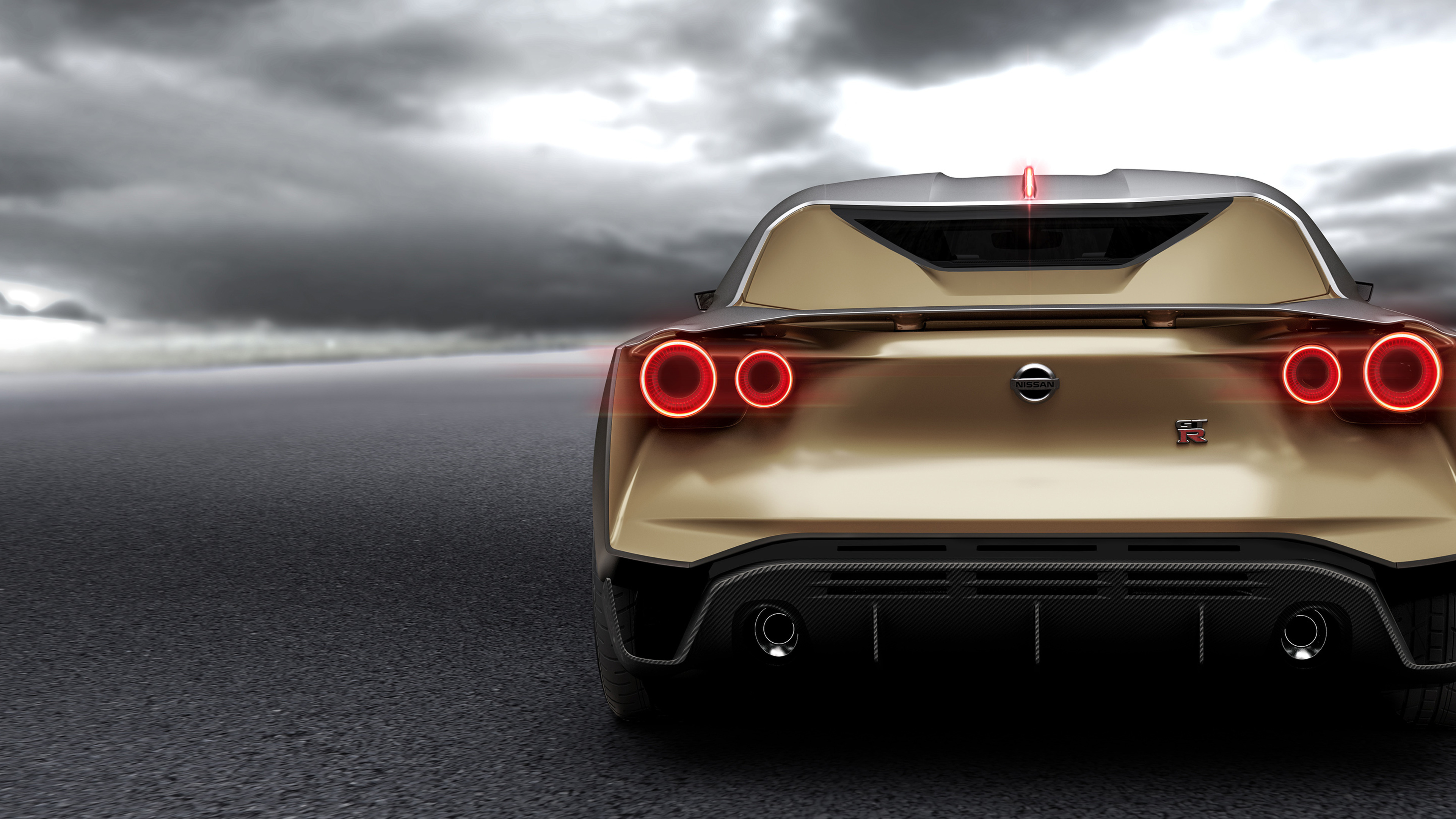 nissan gt r50 concept 2018 rear view 1539112176 - Nissan GT R50 Concept 2018 Rear View - nissan wallpapers, nissan gt r50 wallpapers, hd-wallpapers, concept cars wallpapers, 4k-wallpapers, 2018 cars wallpapers