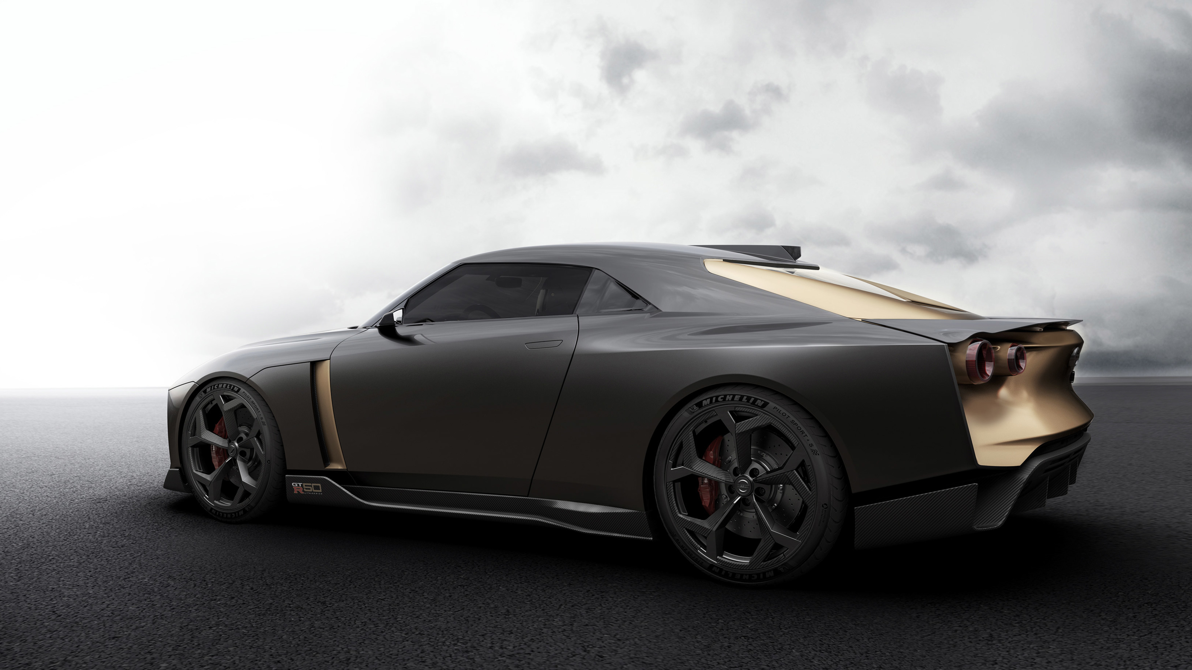 nissan gt r50 concept 2018 side view 1539112178 - Nissan GT R50 Concept 2018 Side View - nissan wallpapers, nissan gt r50 wallpapers, hd-wallpapers, concept cars wallpapers, 4k-wallpapers, 2018 cars wallpapers