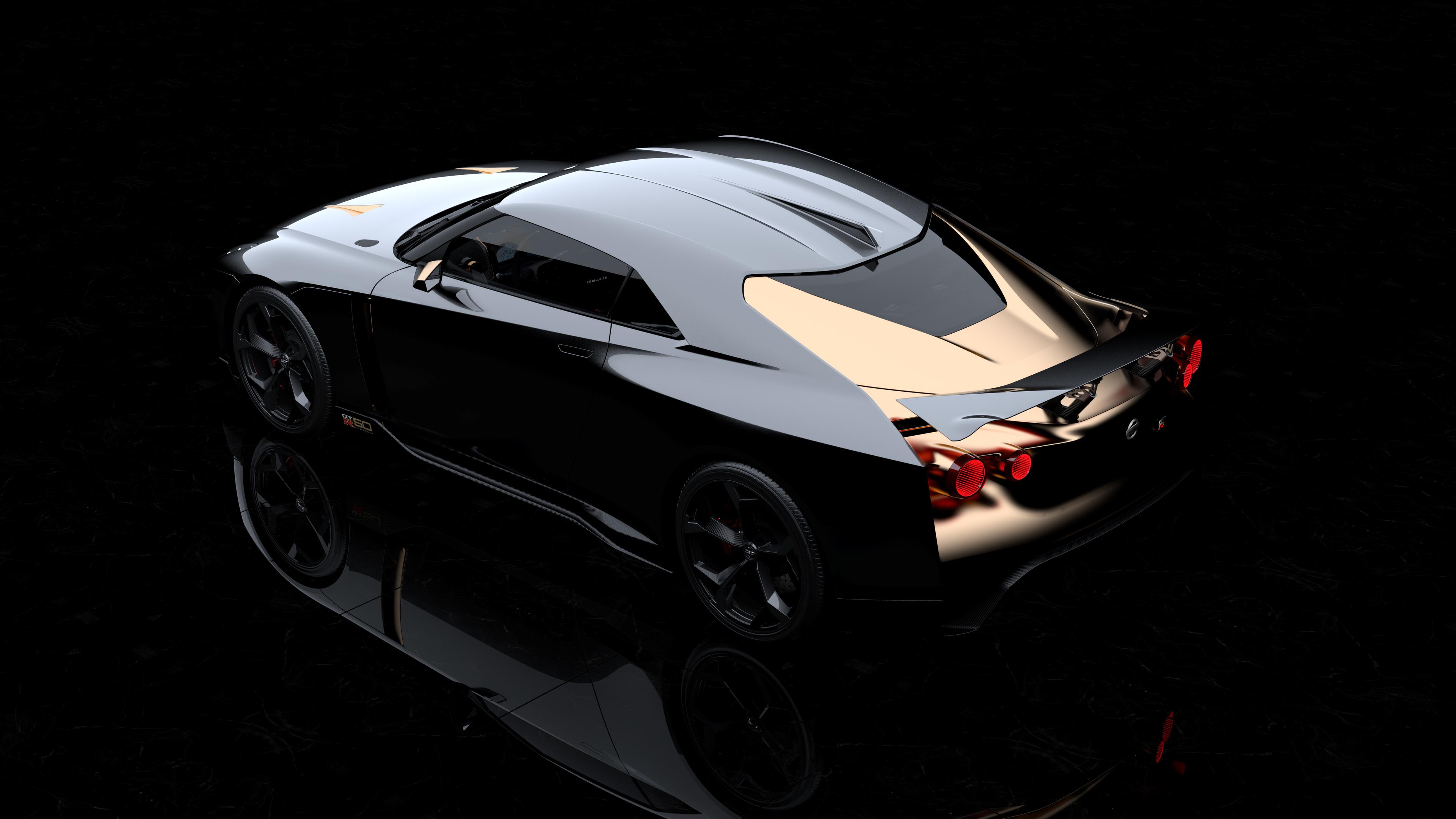 nissan gt r50 concept 2018 ultra limited rear 1539112233 - Nissan GT R50 Concept 2018 Ultra Limited Rear - nissan wallpapers, nissan gt r50 wallpapers, hd-wallpapers, concept cars wallpapers, 5k wallpapers, 4k-wallpapers, 2018 cars wallpapers