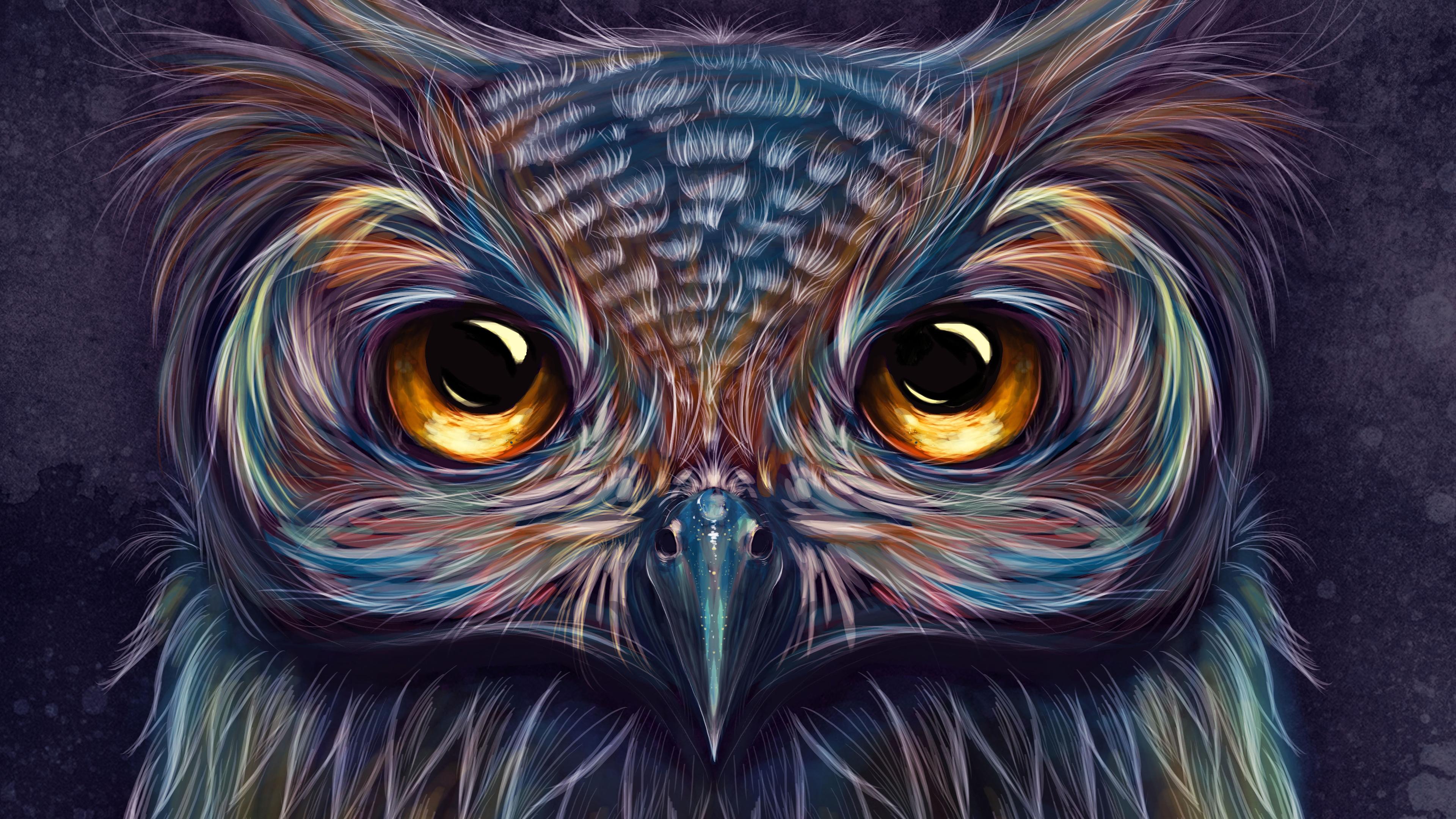 owl colorful art 4k 1540755489 - Owl Colorful Art 4k - owl wallpapers, hd-wallpapers, digital art wallpapers, colorful wallpapers, artwork wallpapers, artist wallpapers, 4k-wallpapers