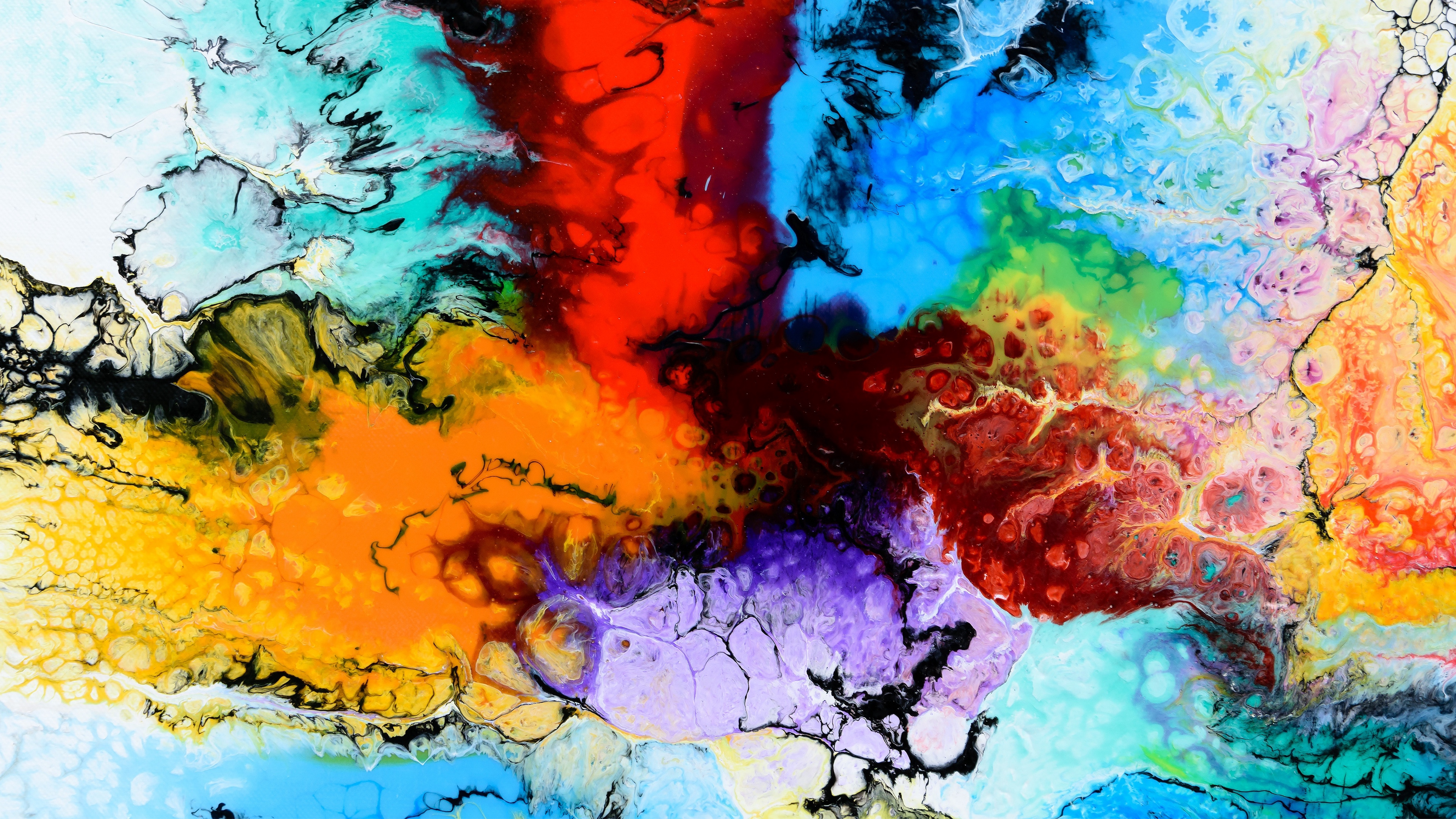 paint stains multicolored 4k 1539369405 - paint, stains, multicolored 4k - stains, Paint, multicolored