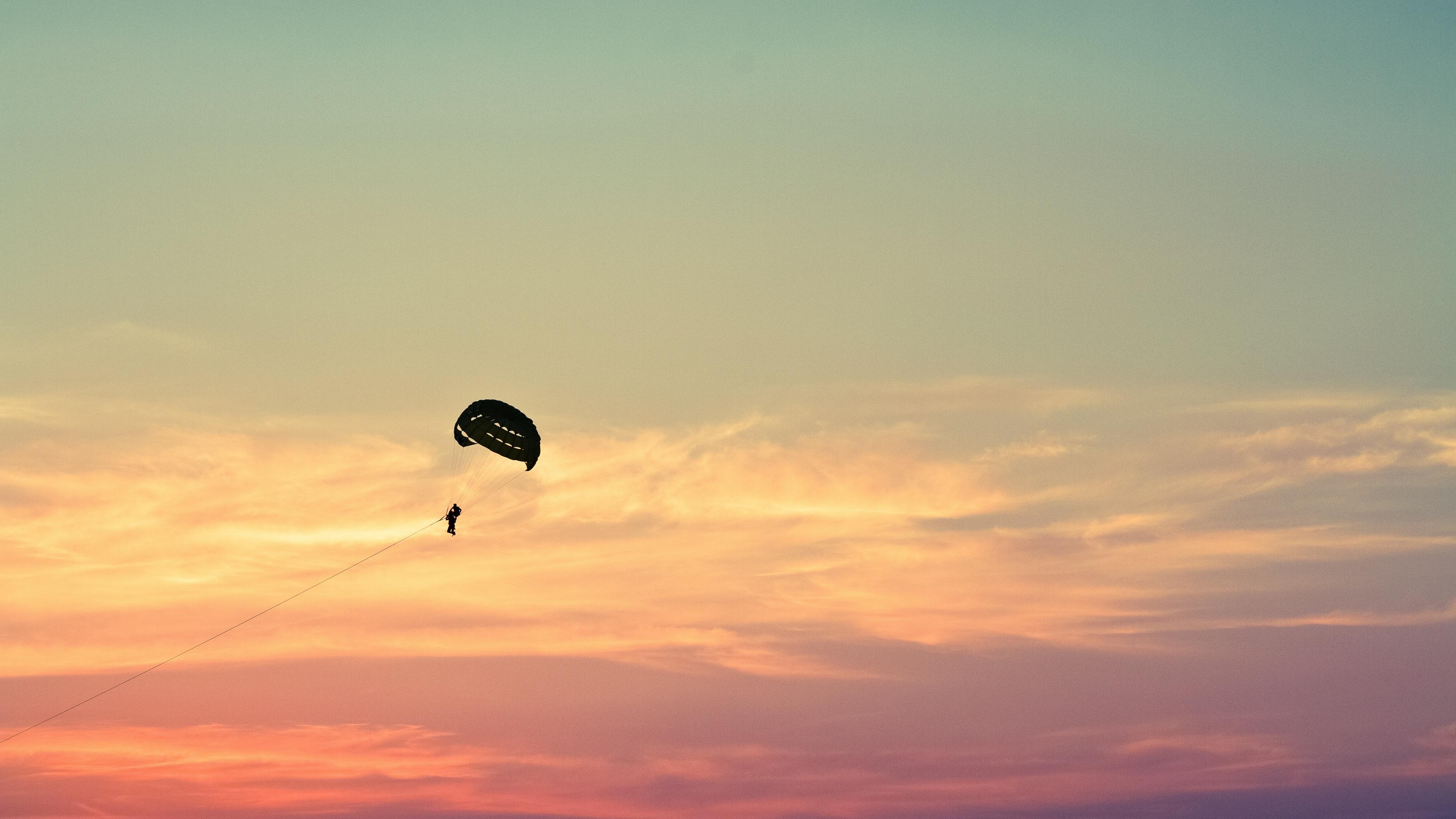 parasailing paragliding flying sky 4k 1540063201 - parasailing, paragliding, flying, sky 4k - parasailing, paragliding, Flying