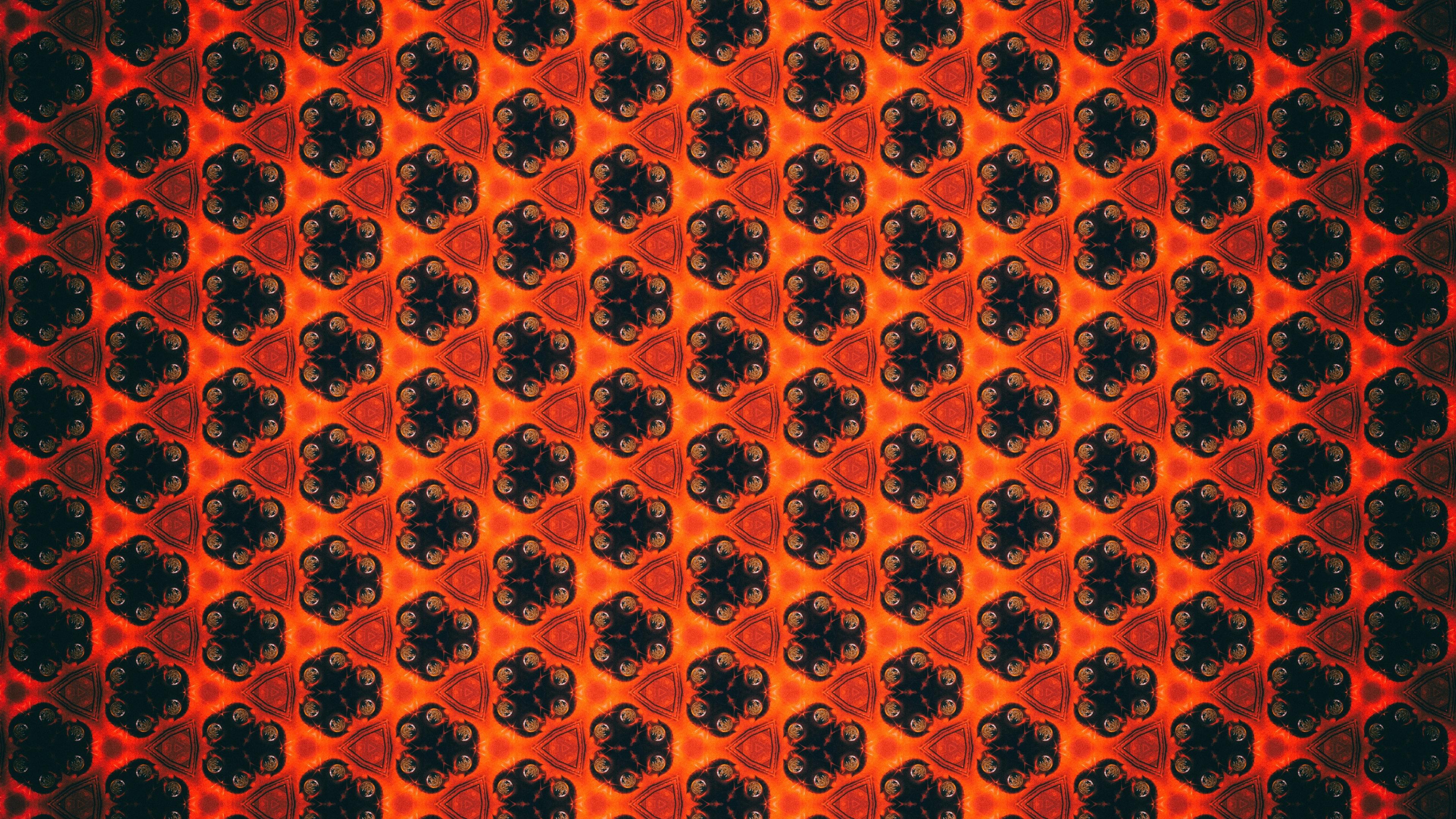 patterns flowers shapes 4k 1539369929 - patterns, flowers, shapes 4k - Shapes, patterns, Flowers