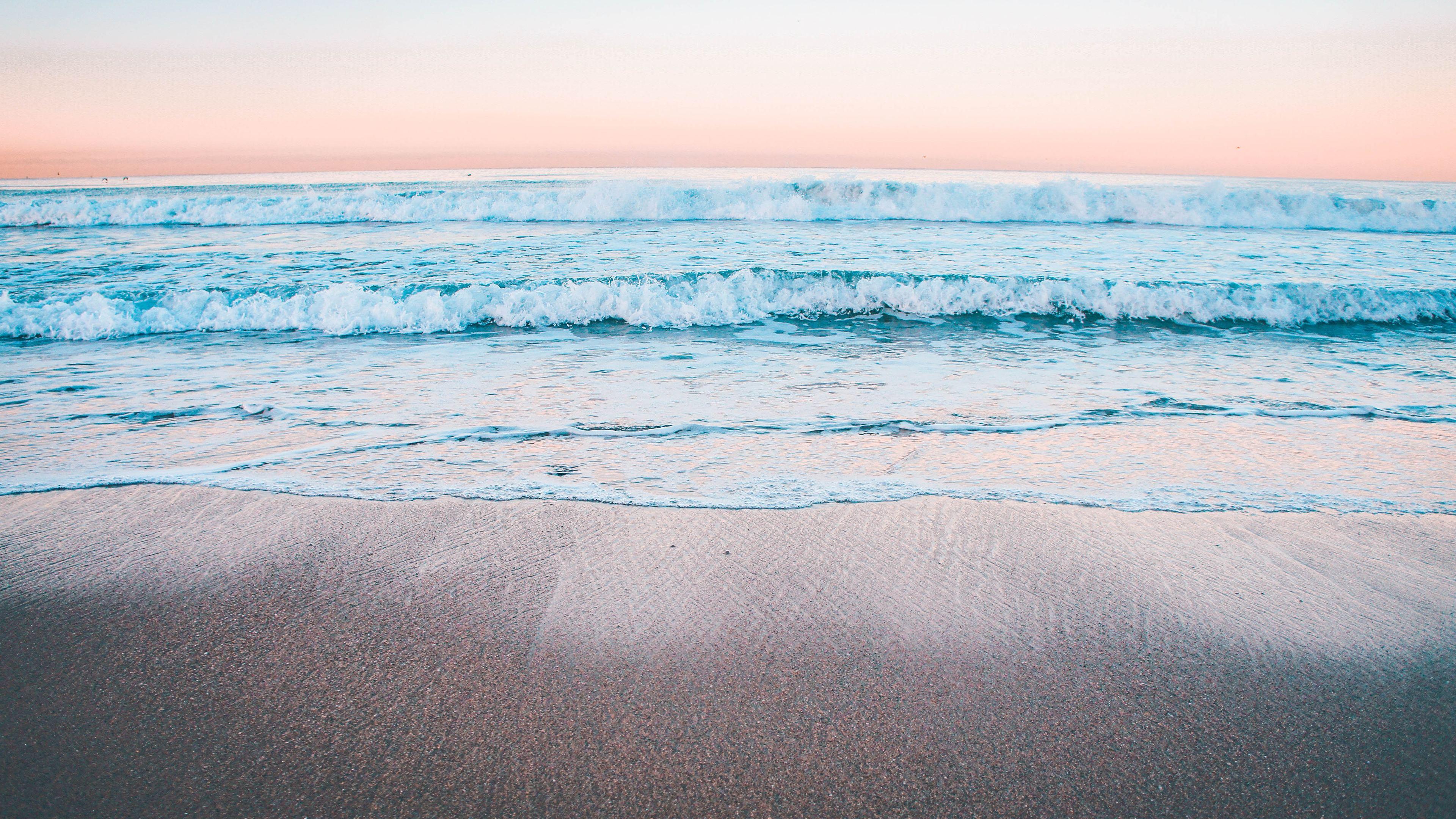 peaceful calm waves 4k 1540142336 - Peaceful Calm Waves 4k - waves wallpapers, nature wallpapers, hd-wallpapers, 5k wallpapers, 4k-wallpapers