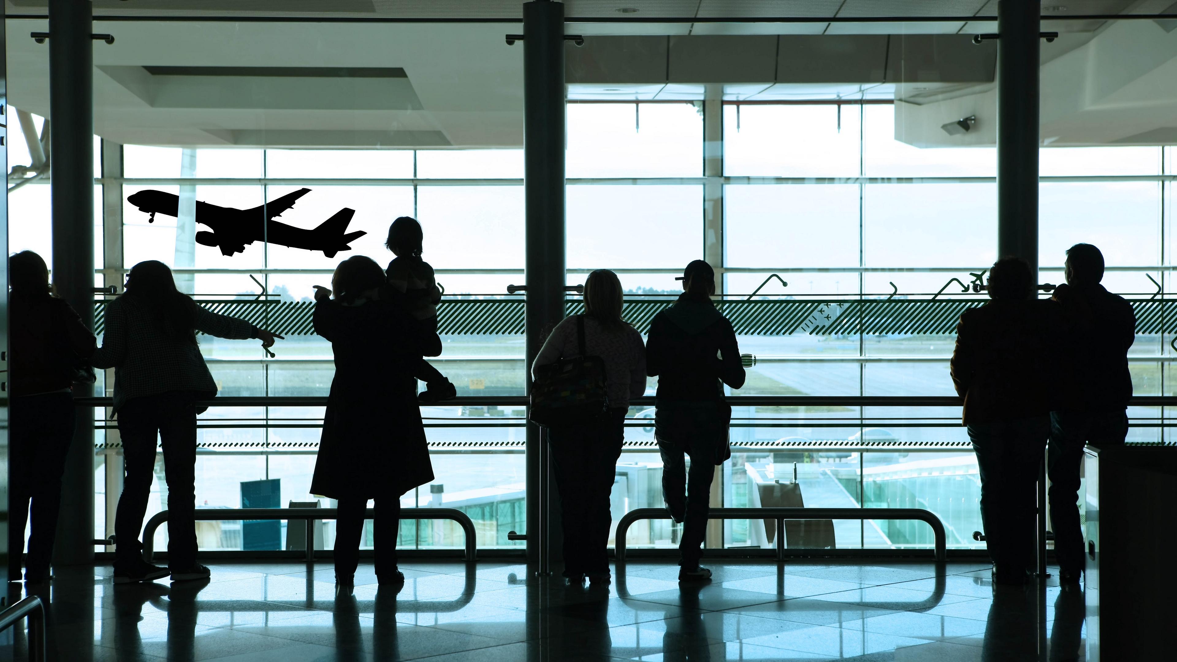 people airport shadow 4k 1540574434 - people, airport, shadow 4k - Shadow, People, airport