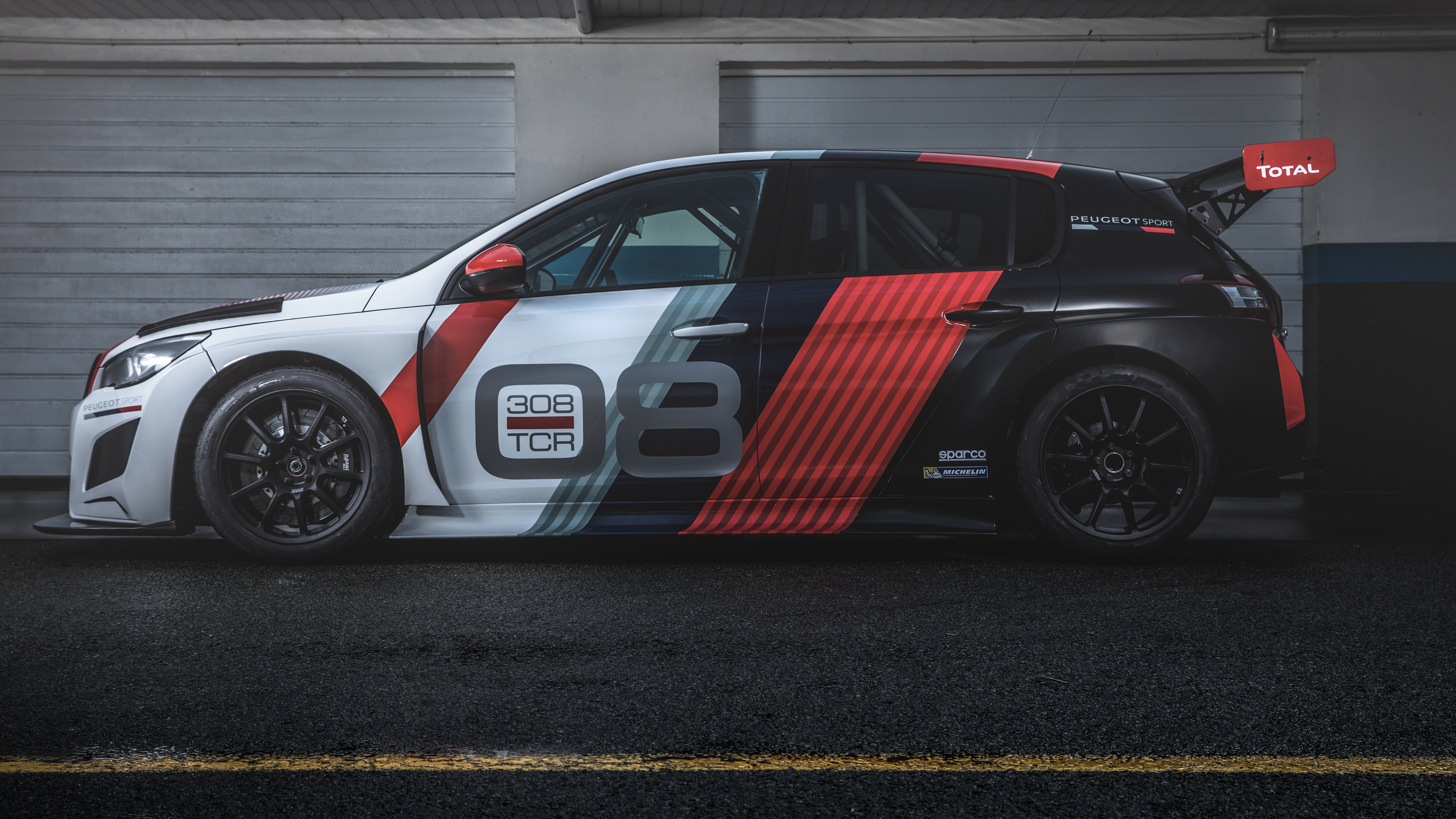 peugeot 308 tcr 2018 side view 1539108921 - Peugeot 308 TCR 2018 Side View - peugeot wallpapers, peugeot 308 tcr wallpapers, hd-wallpapers, cars wallpapers, 4k-wallpapers, 2018 cars wallpapers