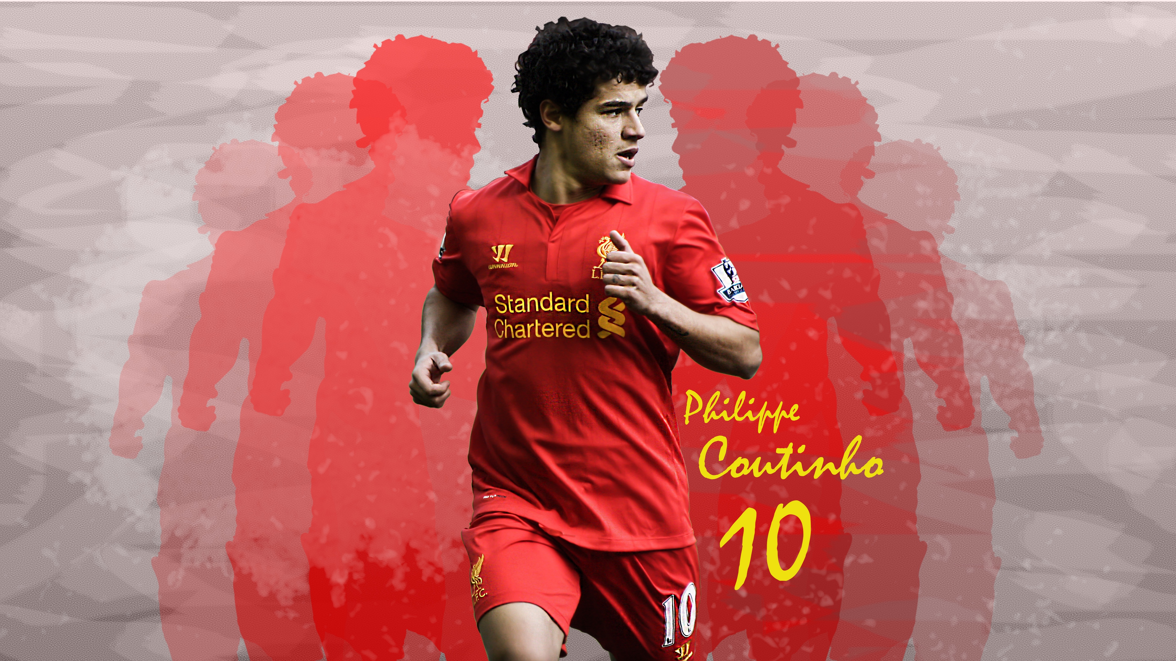 Wallpaper 4k Philippe Coutinho Liverpool Fc Soccer Player 4k Liverpool Fc Philippe Coutinho Soccer Player