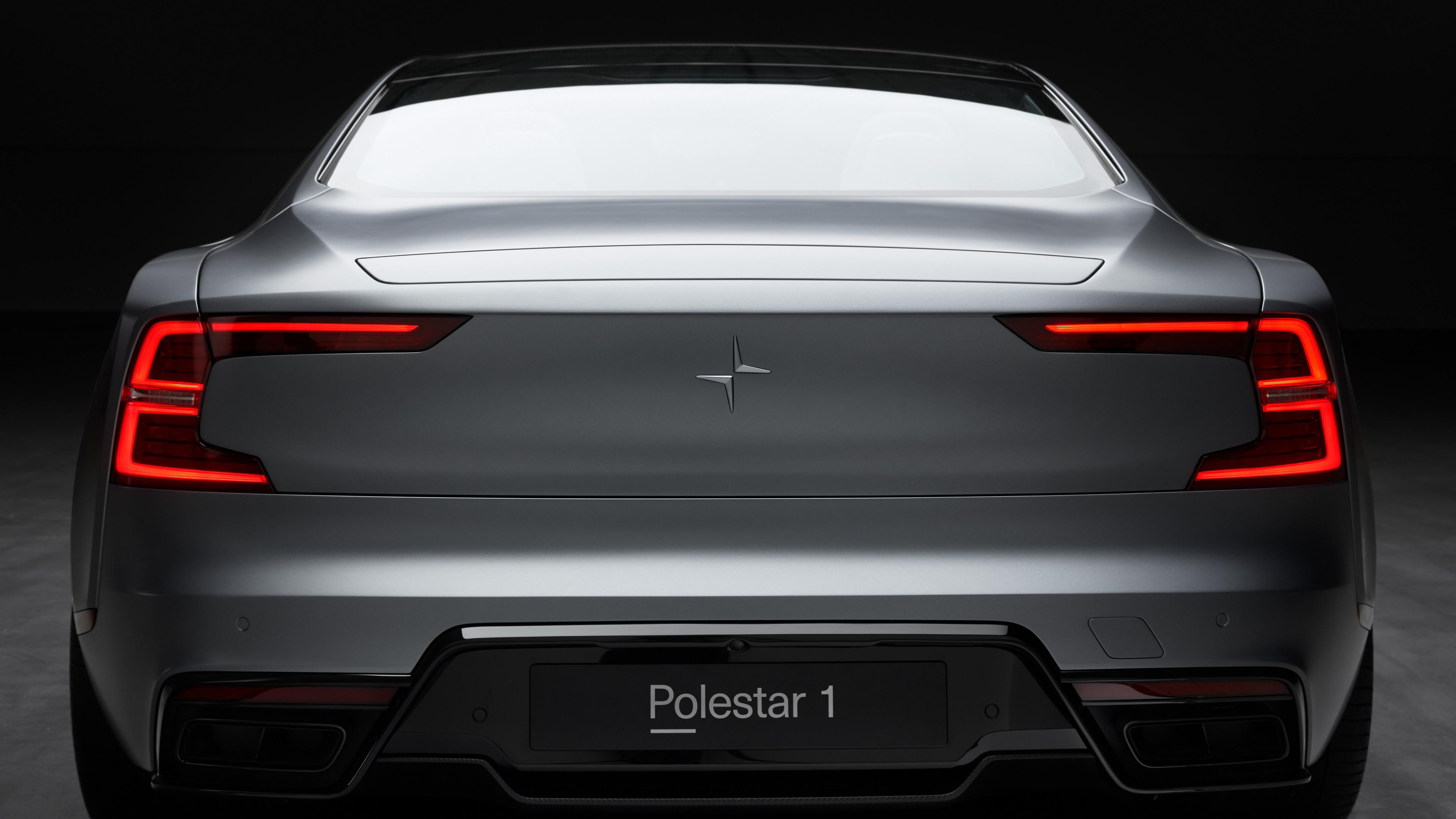 polestar 1 rear 4k 1539110258 - Polestar 1 Rear 4k - polestar 1 wallpapers, hd-wallpapers, cars wallpapers, 4k-wallpapers, 2019 cars wallpapers