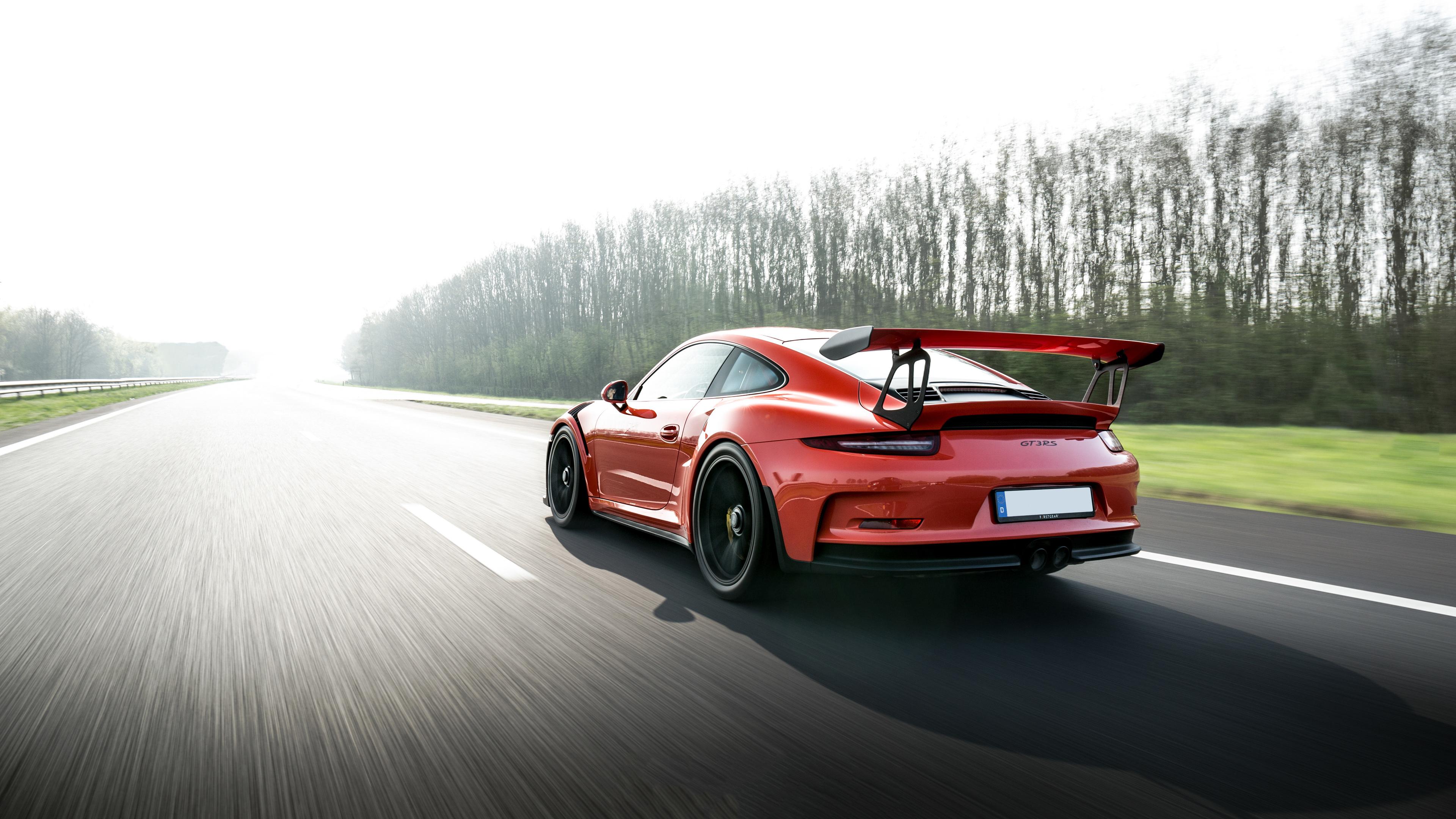 Porsche 911 GT3 RS 2018 5k Rear porsche wallpapers ...
