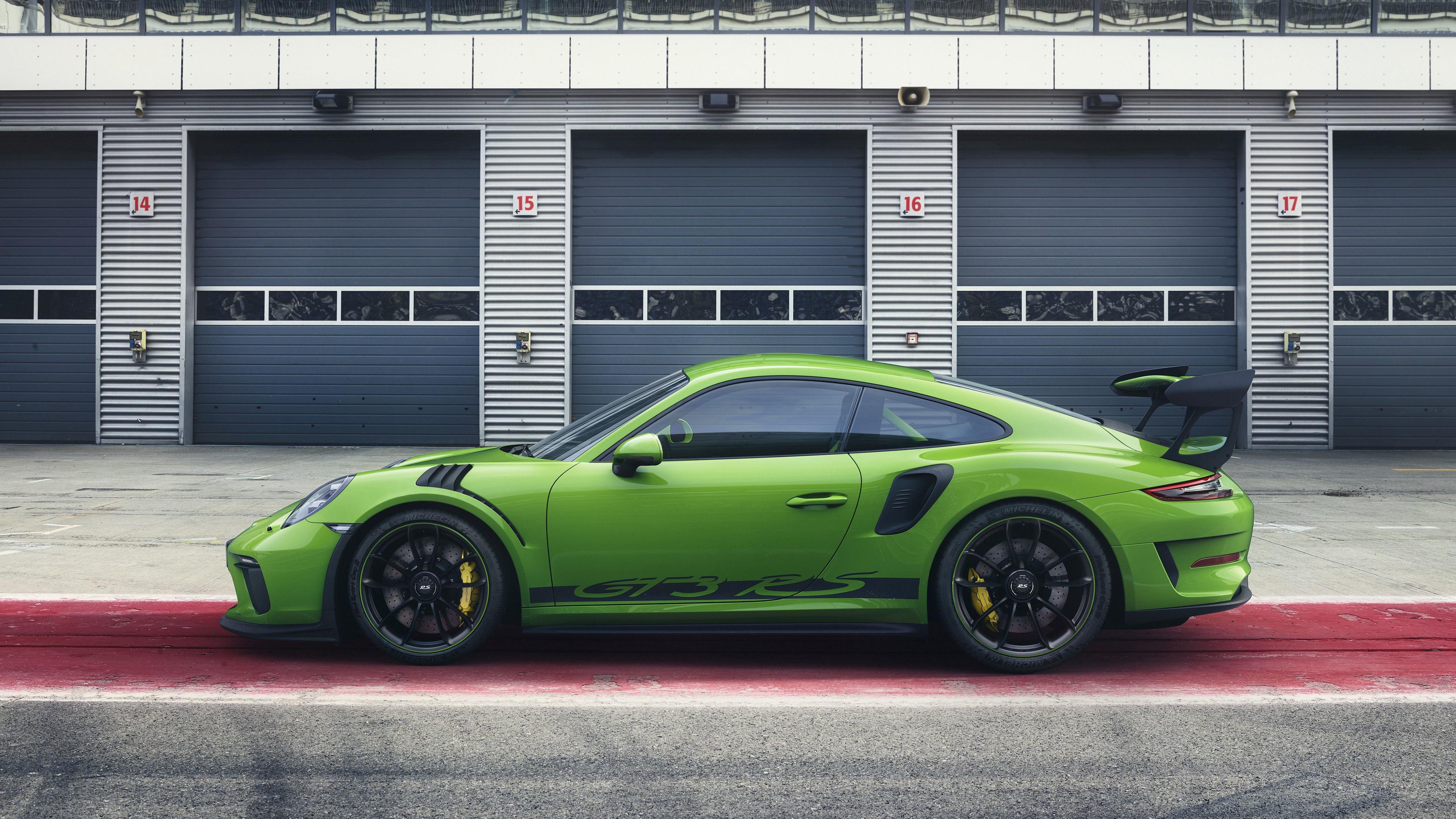 porsche 911 gt3 rs 2018 side view 1539109943 - Porsche 911 GT3 RS 2018 Side View - porsche wallpapers, porsche 911 wallpapers, hd-wallpapers, cars wallpapers, 4k-wallpapers, 2018 cars wallpapers