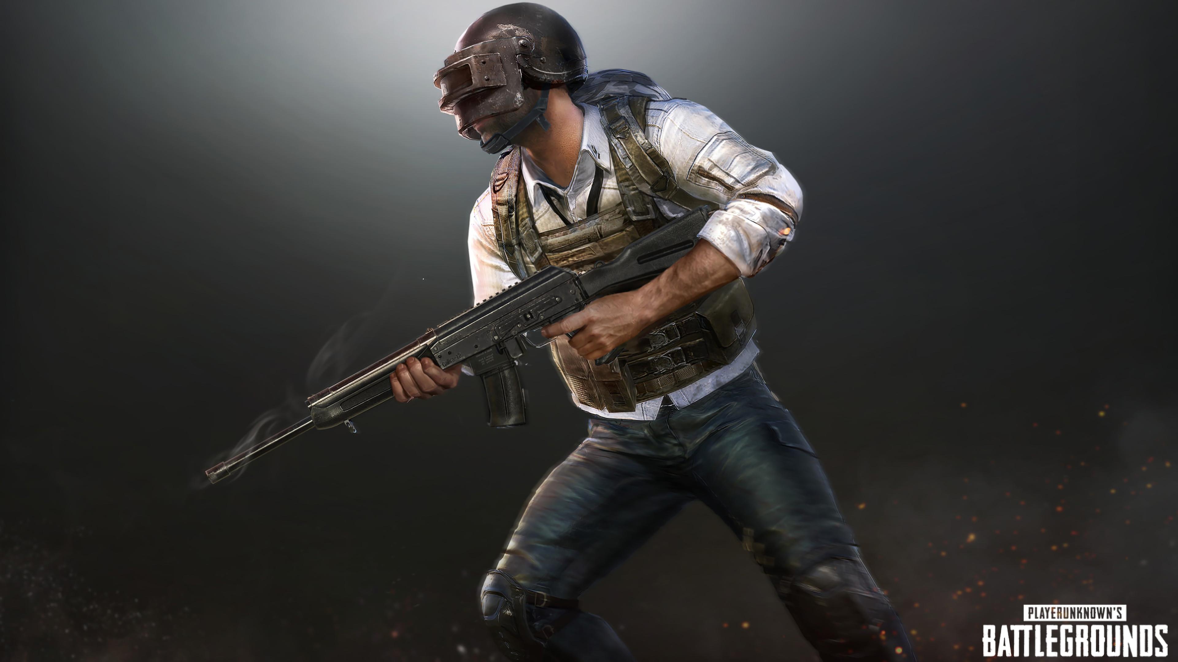 PUBG Helmet Guy