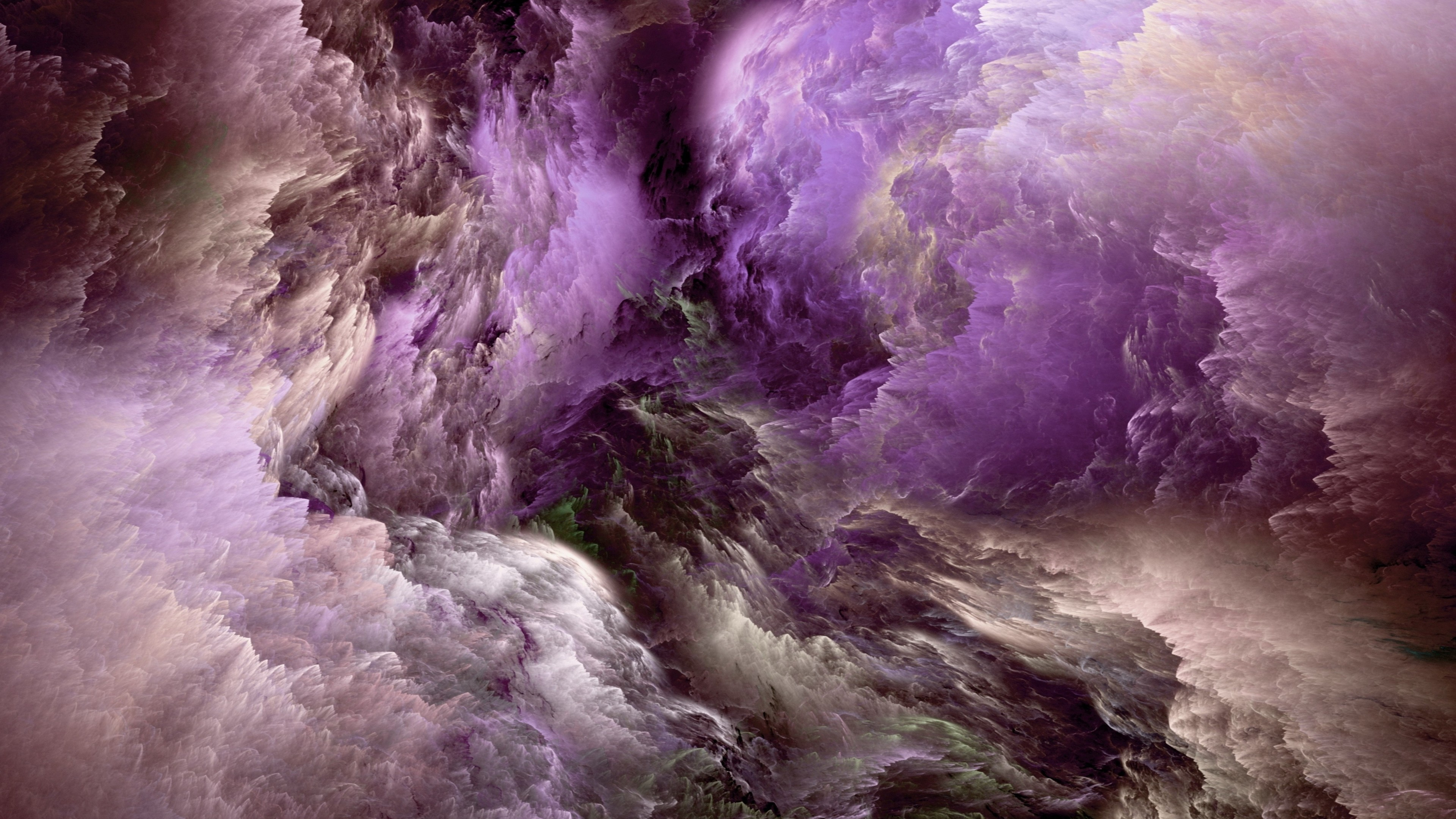 purple white clouds 4k 1540748640 - Purple White Clouds 4k - white wallpapers, purple wallpapers, digital art wallpapers, clouds wallpapers, artist wallpapers