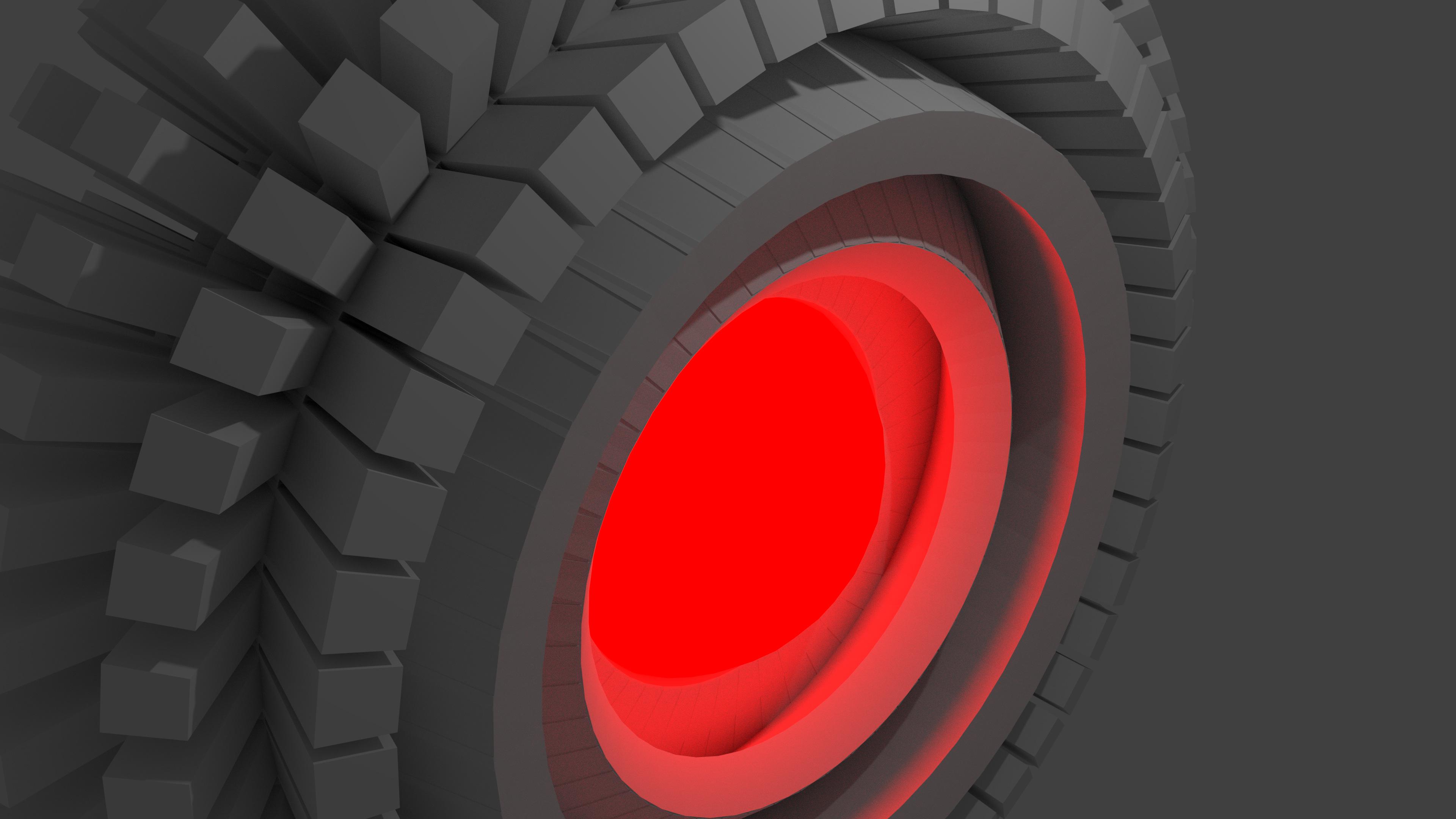 red abstract blender 4k 1539371301 - Red Abstract Blender 4k - shapes wallpapers, hd-wallpapers, digital art wallpapers, artwork wallpapers, artist wallpapers, abstract wallpapers, 4k-wallpapers