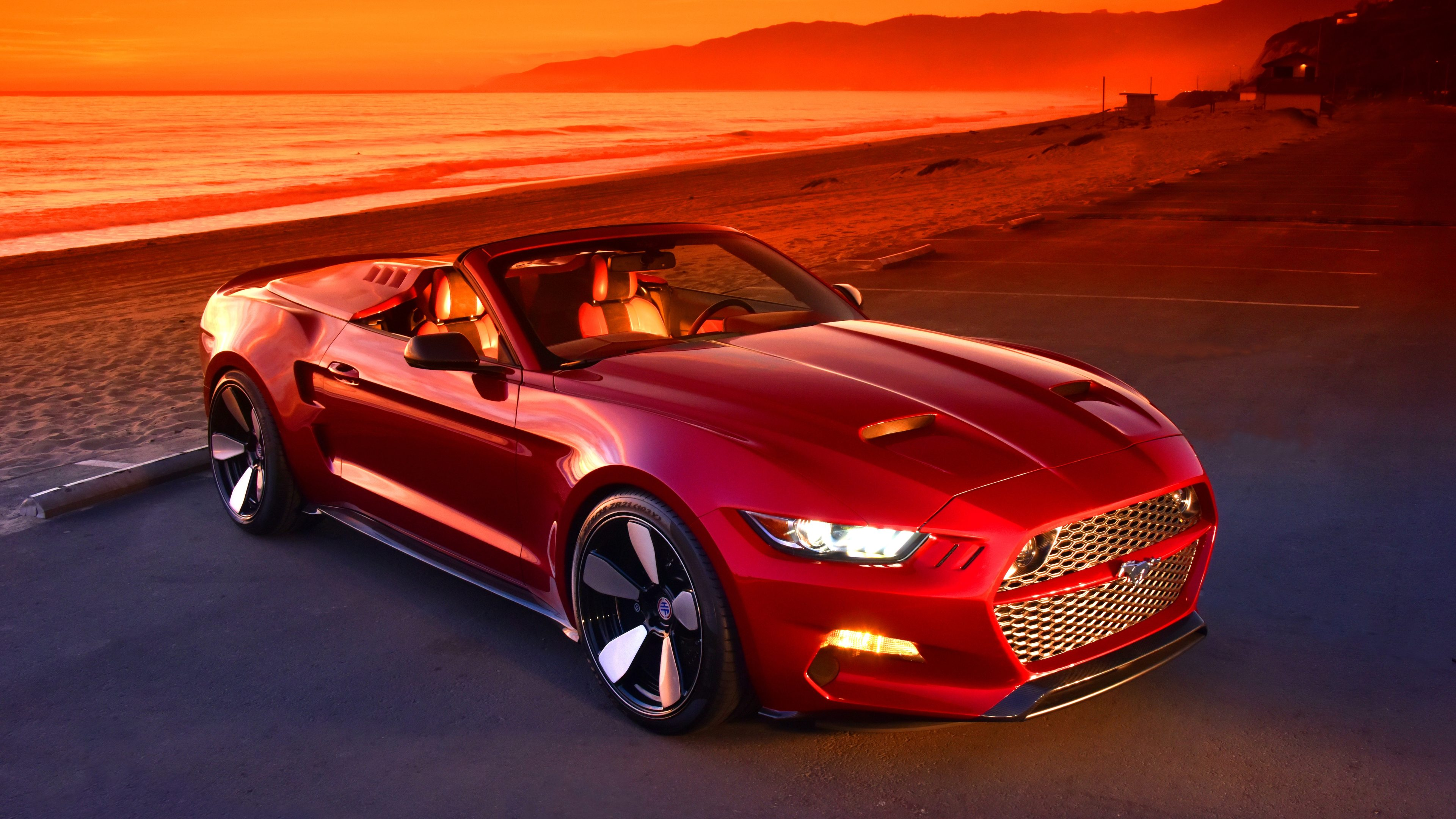 red mustang 5k 1539792936 - Red Mustang 5k - hd-wallpapers, ford mustang wallpapers, cars wallpapers, 5k wallpapers, 4k-wallpapers