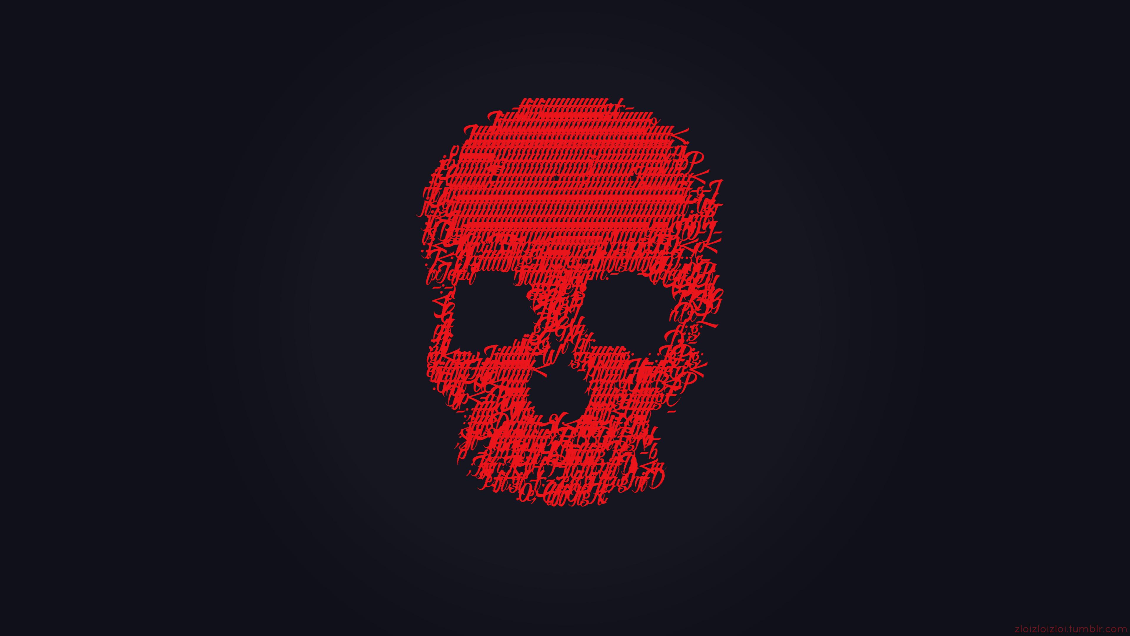 red skull 4k 1540752899 - Red Skull 4k - skull wallpapers, hd-wallpapers, digital art wallpapers, artwork wallpapers, artist wallpapers, 4k-wallpapers