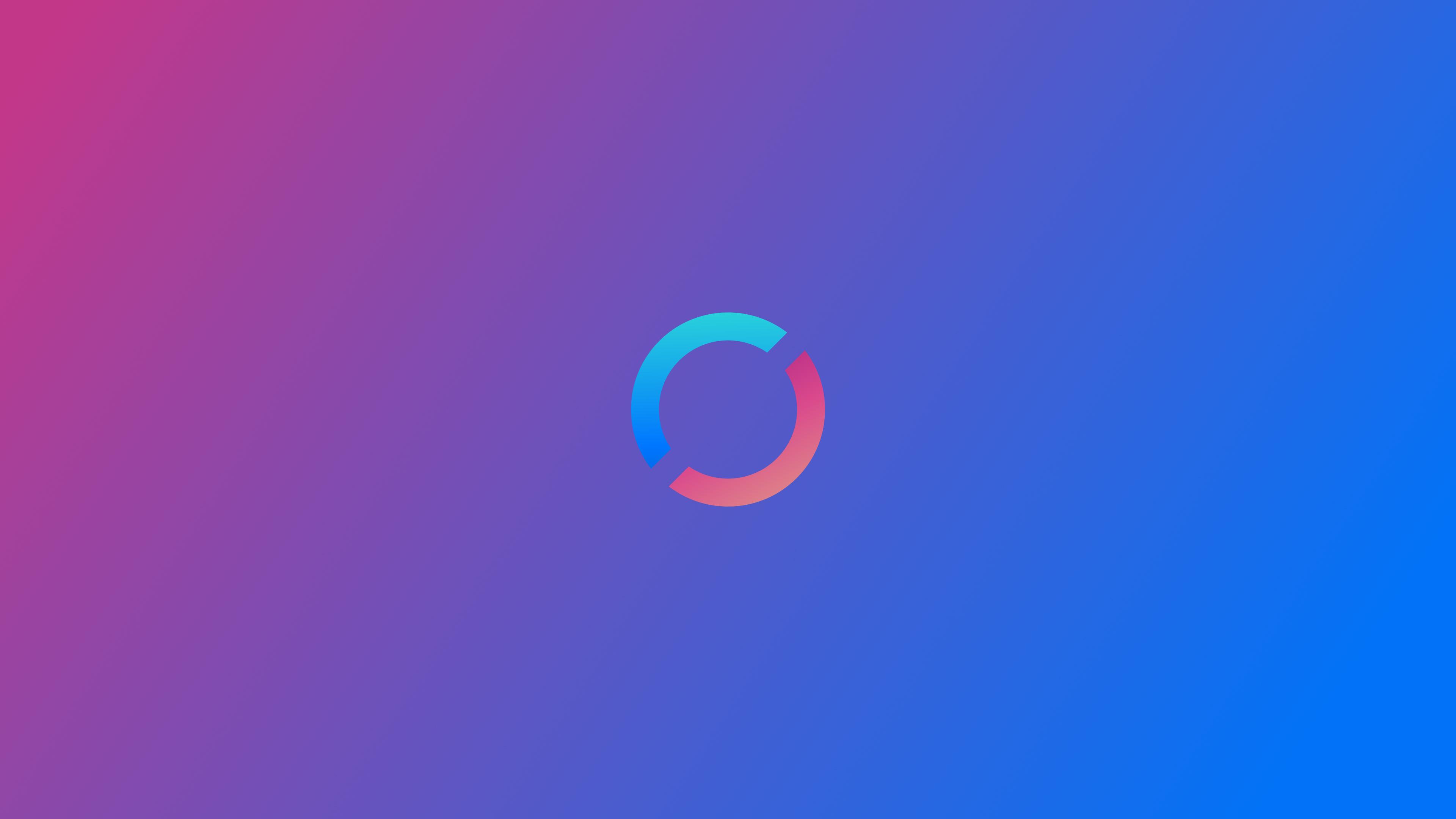 Wallpaper 4k Refresh Logo Minimalism 4k 4k Wallpapers