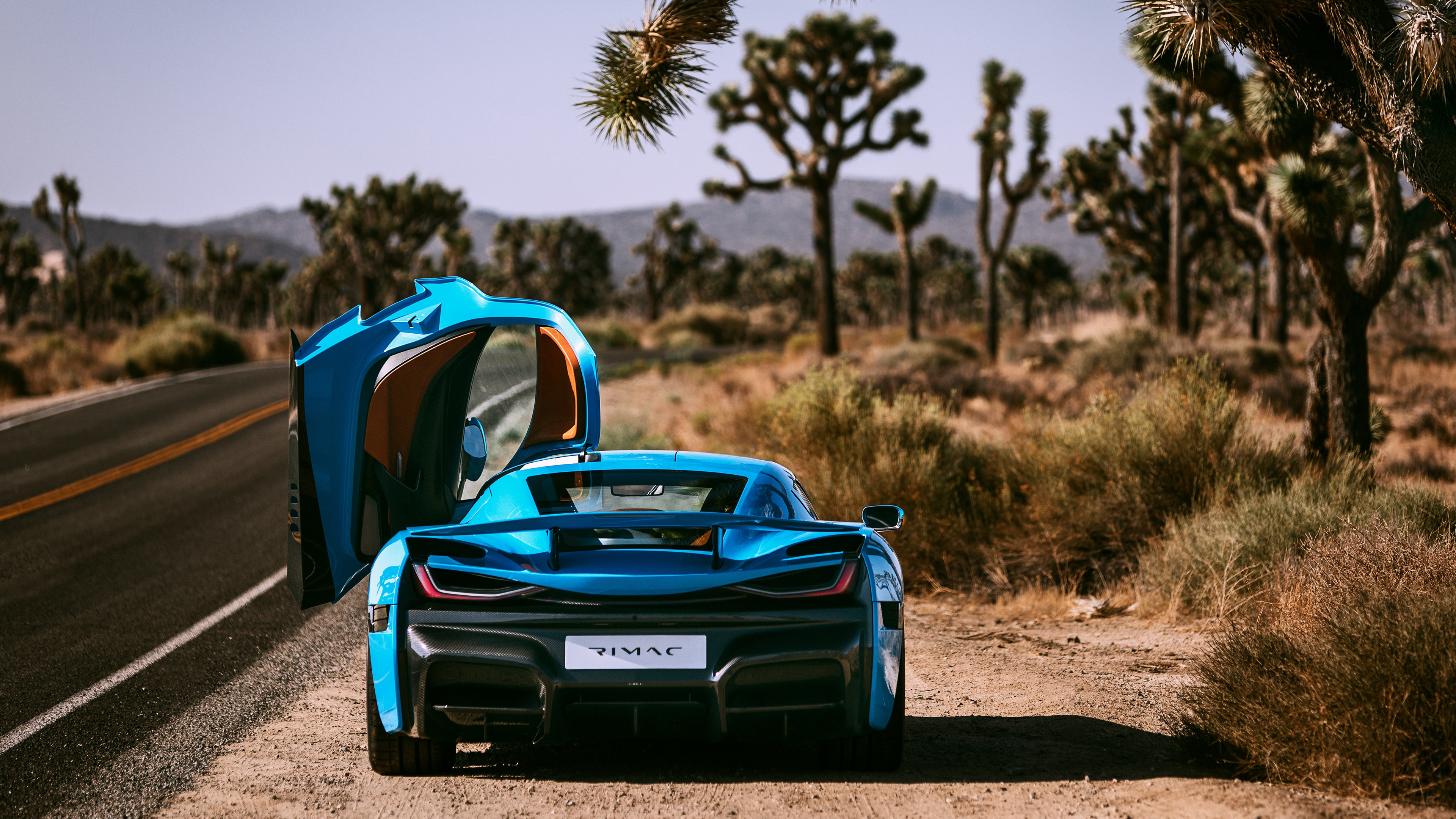 rimac c two california edition 2018 rear view 1539113896 - Rimac C Two California Edition 2018 Rear View - rimac wallpapers, rimac c two wallpapers, hd-wallpapers, cars wallpapers, 4k-wallpapers, 2018 cars wallpapers