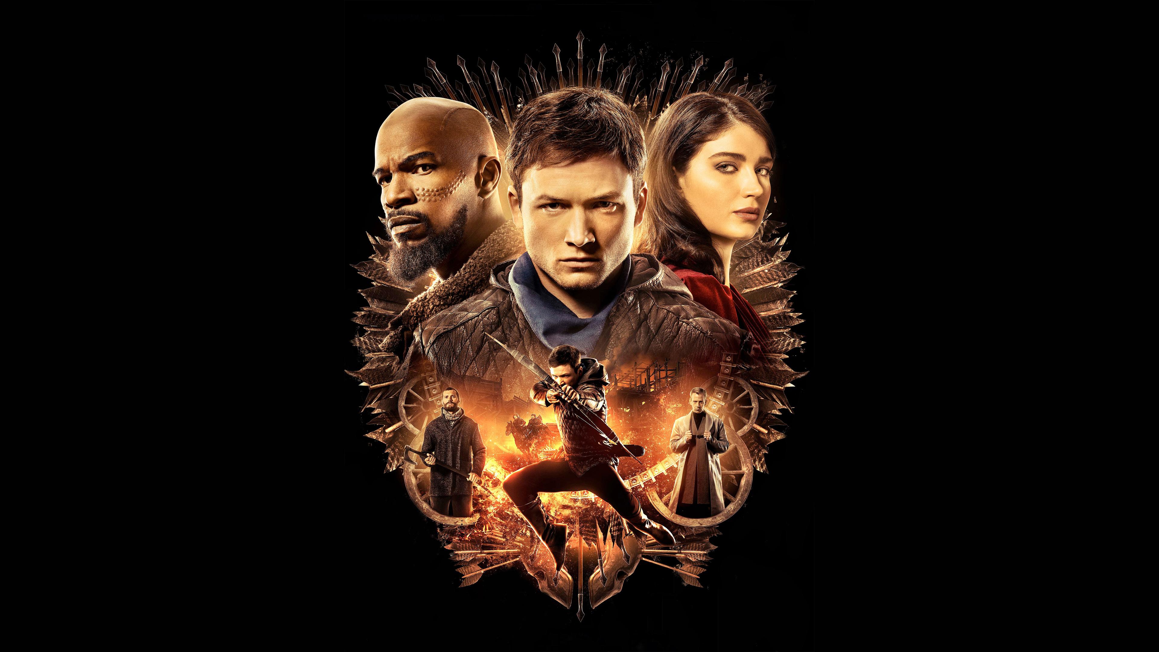 Wallpaper 4k Robin Hood Movie 2018 5k 2018 Movies Wallpapers