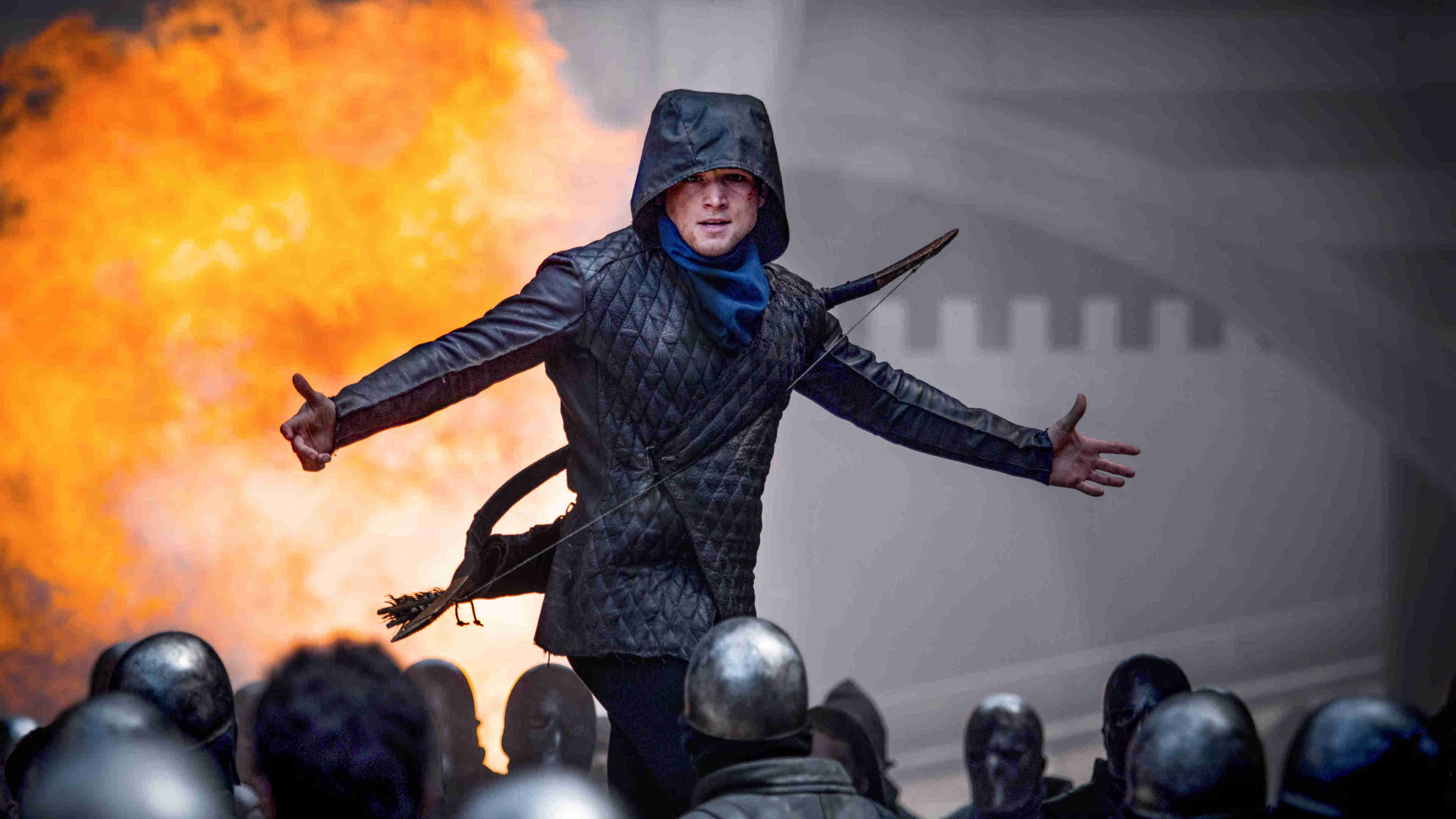 Wallpaper 4k Robin Hood Movie Taron Egerton 2018 Movies