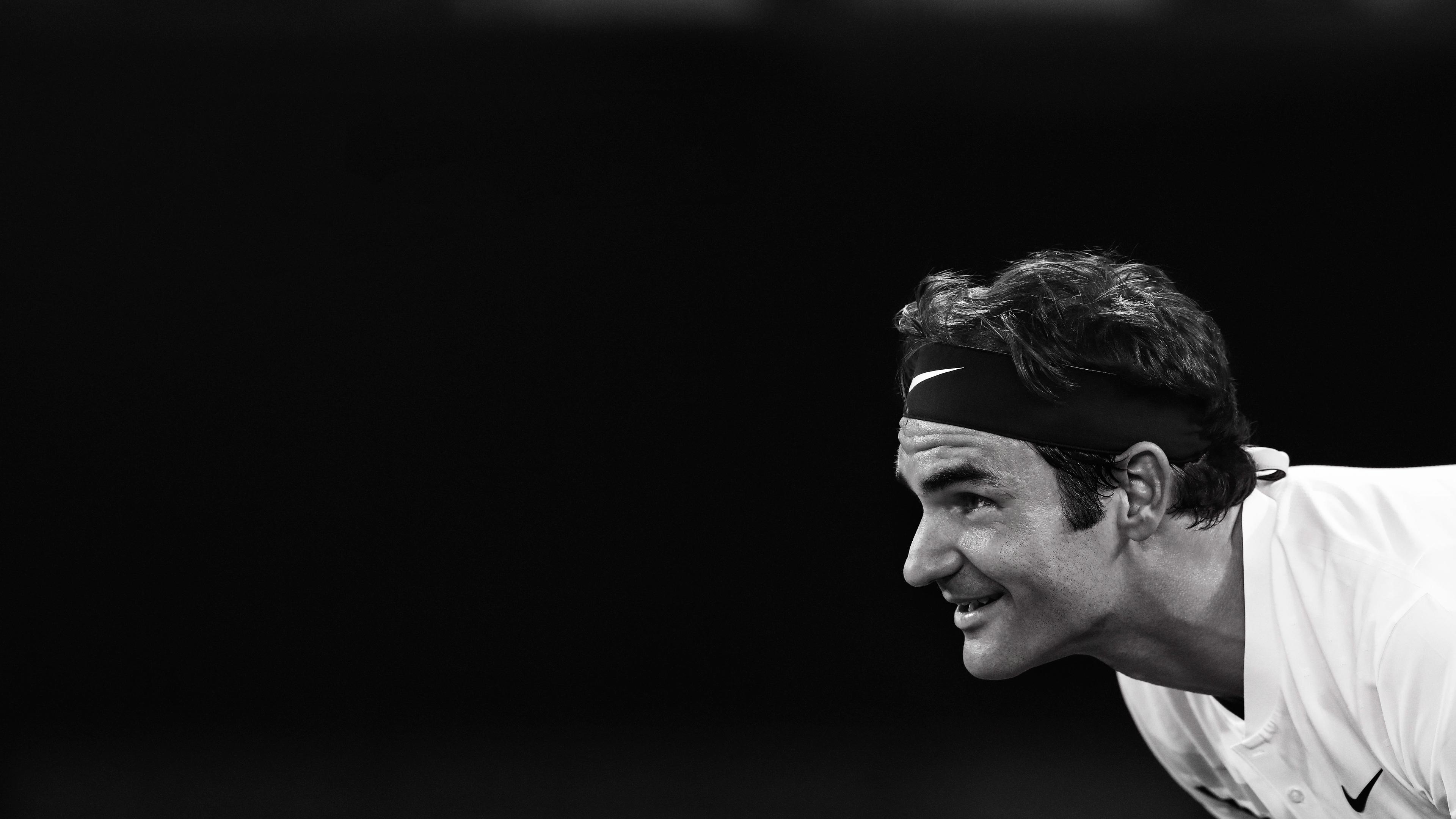 roger federer 5k 1538786925 - Roger Federer 5k - tennis wallpapers, sports wallpapers, roger federer wallpapers, monochrome wallpapers, male celebrities wallpapers, hd-wallpapers, boys wallpapers, black and white wallpapers, 5k wallpapers, 4k-wallpapers